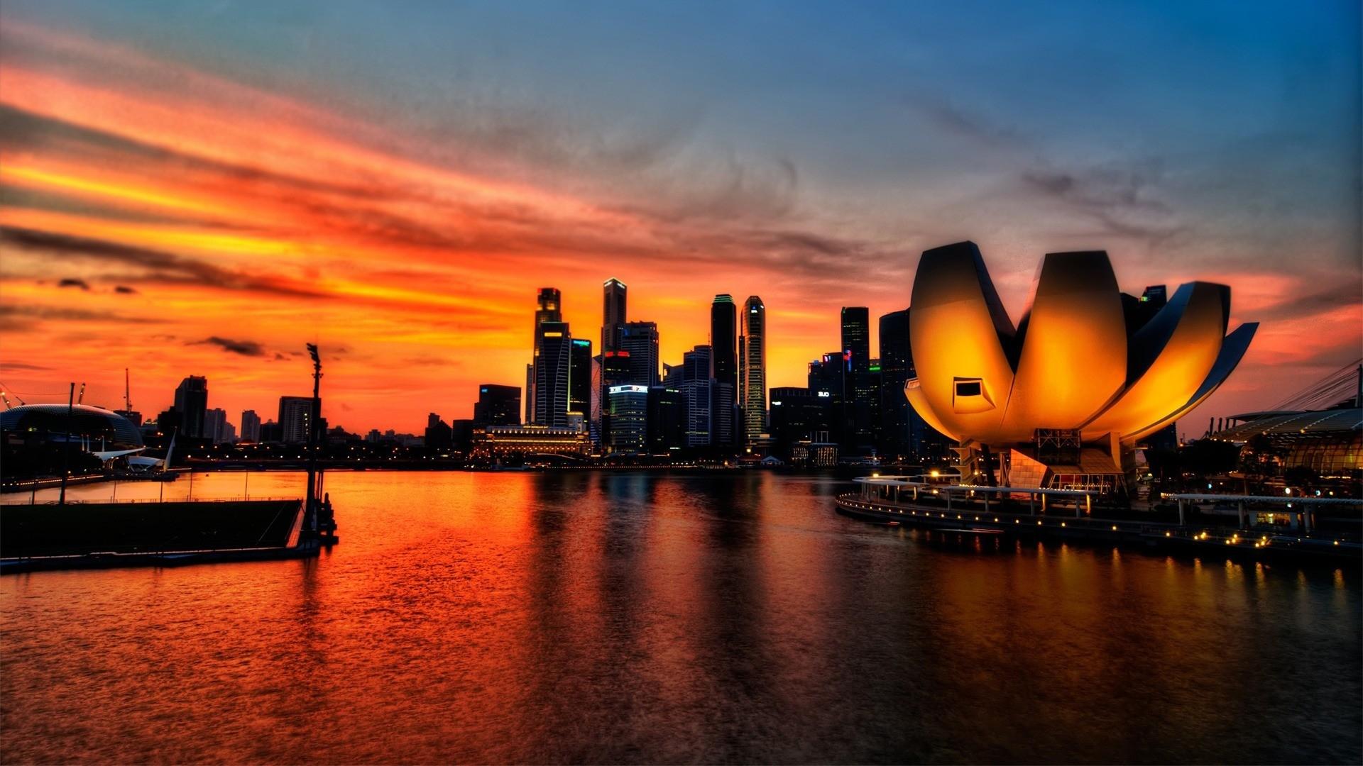 city sunset wallpaper 7106 - photo #9