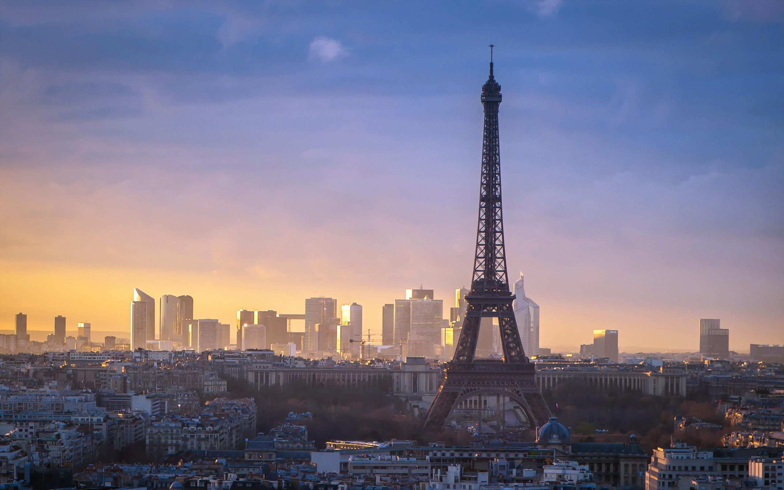 Обои дефанс, france, ночь, la défense, paris. Города foto 19