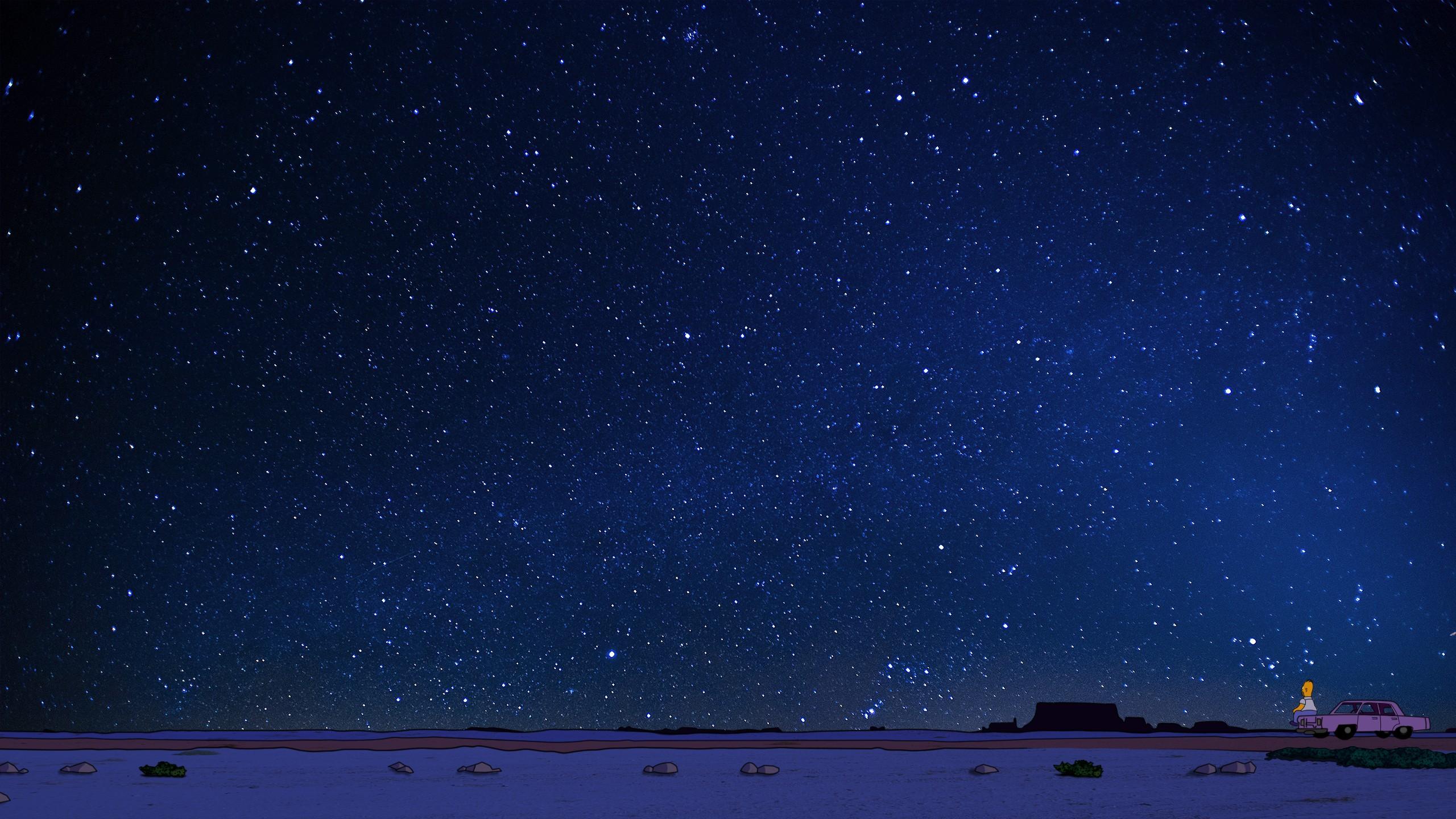 Звездное небо картинки на обои