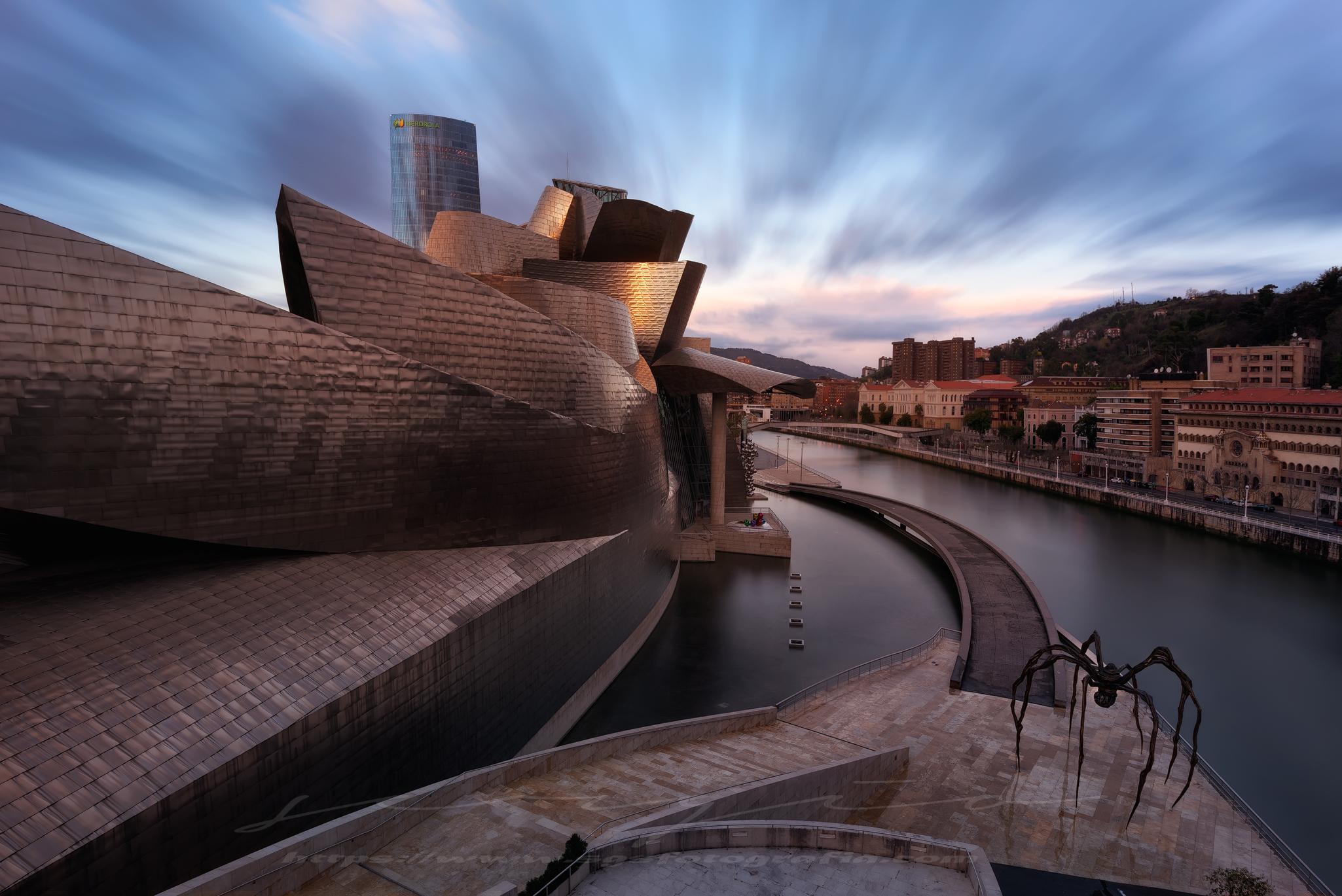 Fondos de pantalla puesta de sol mar paisaje urbano - Arquitectura pais vasco ...