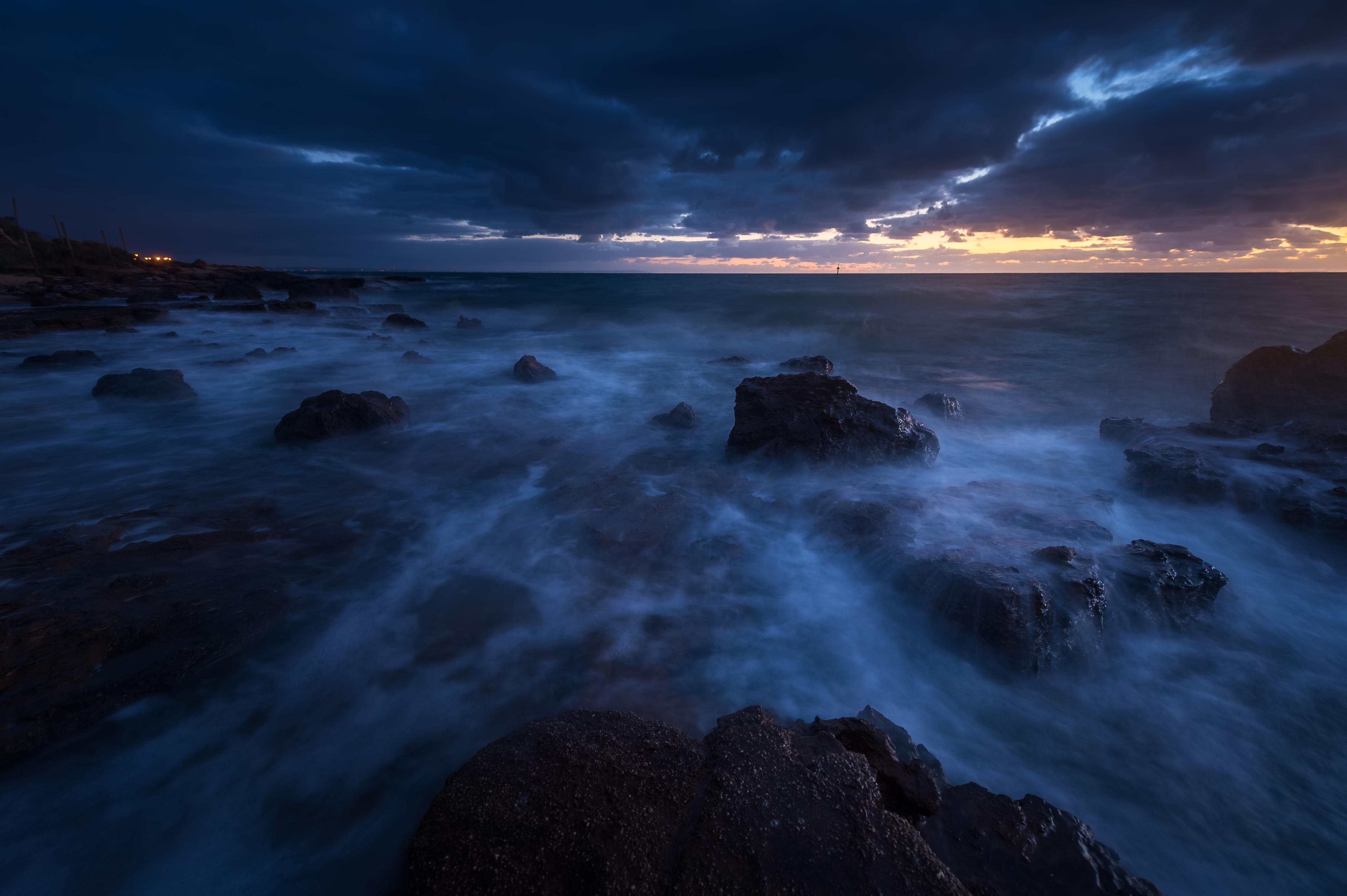 Картинки ночного океана