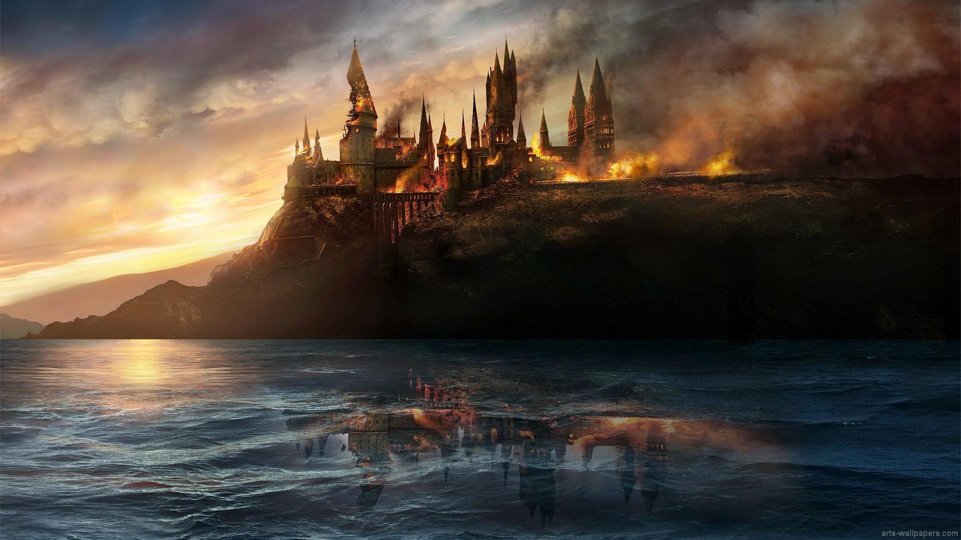 Popular Wallpaper Harry Potter Artistic - sunset-sea-reflection-sunrise-evening-morning-Harry-Potter-dusk-Hogwarts-ghost-ship-battle-at-hogwarts-cloud-dawn-wave-screenshot-computer-wallpaper-237654  Pictures_457521.jpg