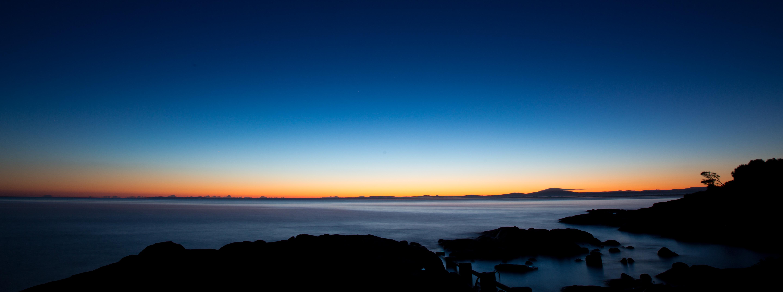 wallpaper sunset sea water sky sunrise calm evening morning