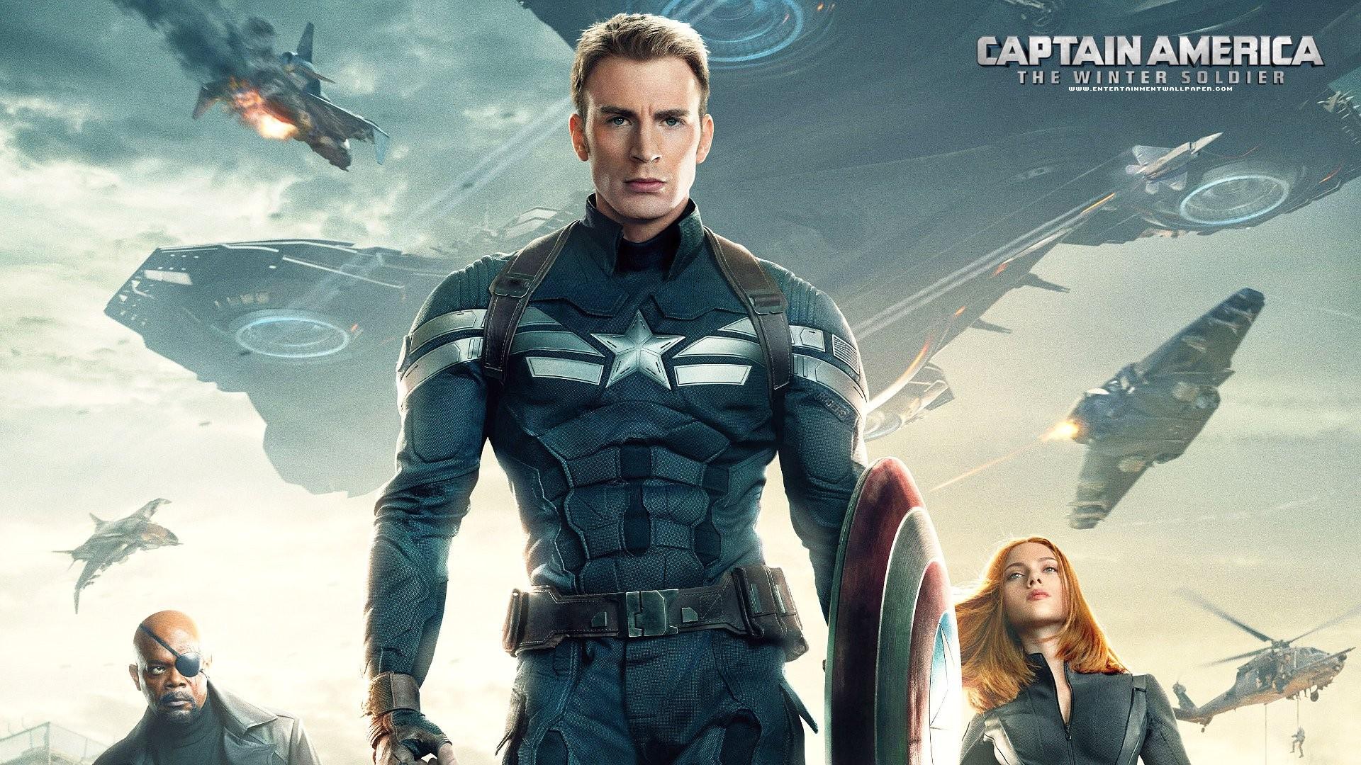 Captain America The Winter Soldier Wallpaper: Wallpaper : Superhero, Captain America, Scarlett Johansson