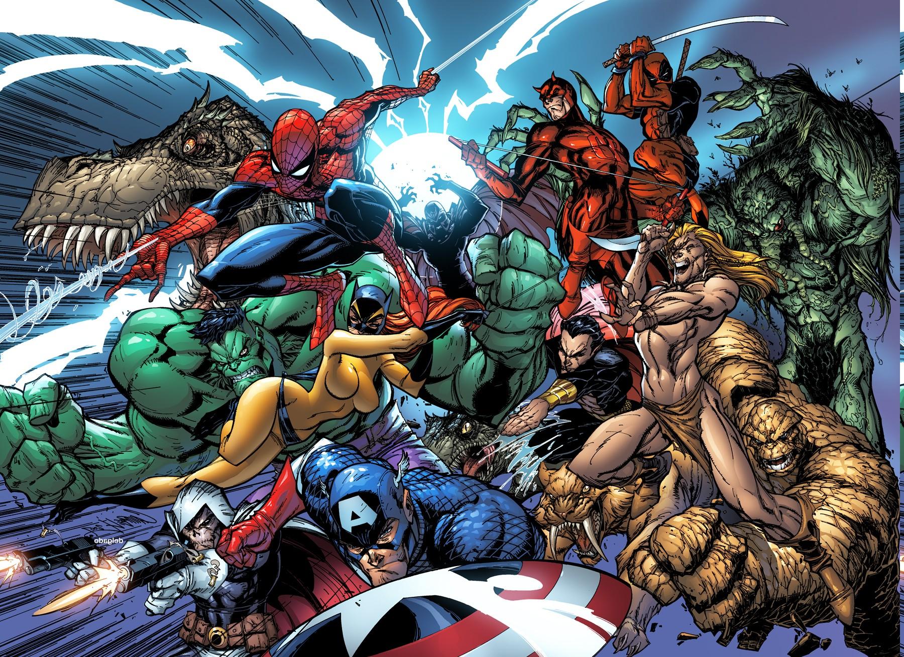 Marvel Comics Hulk Deadpool