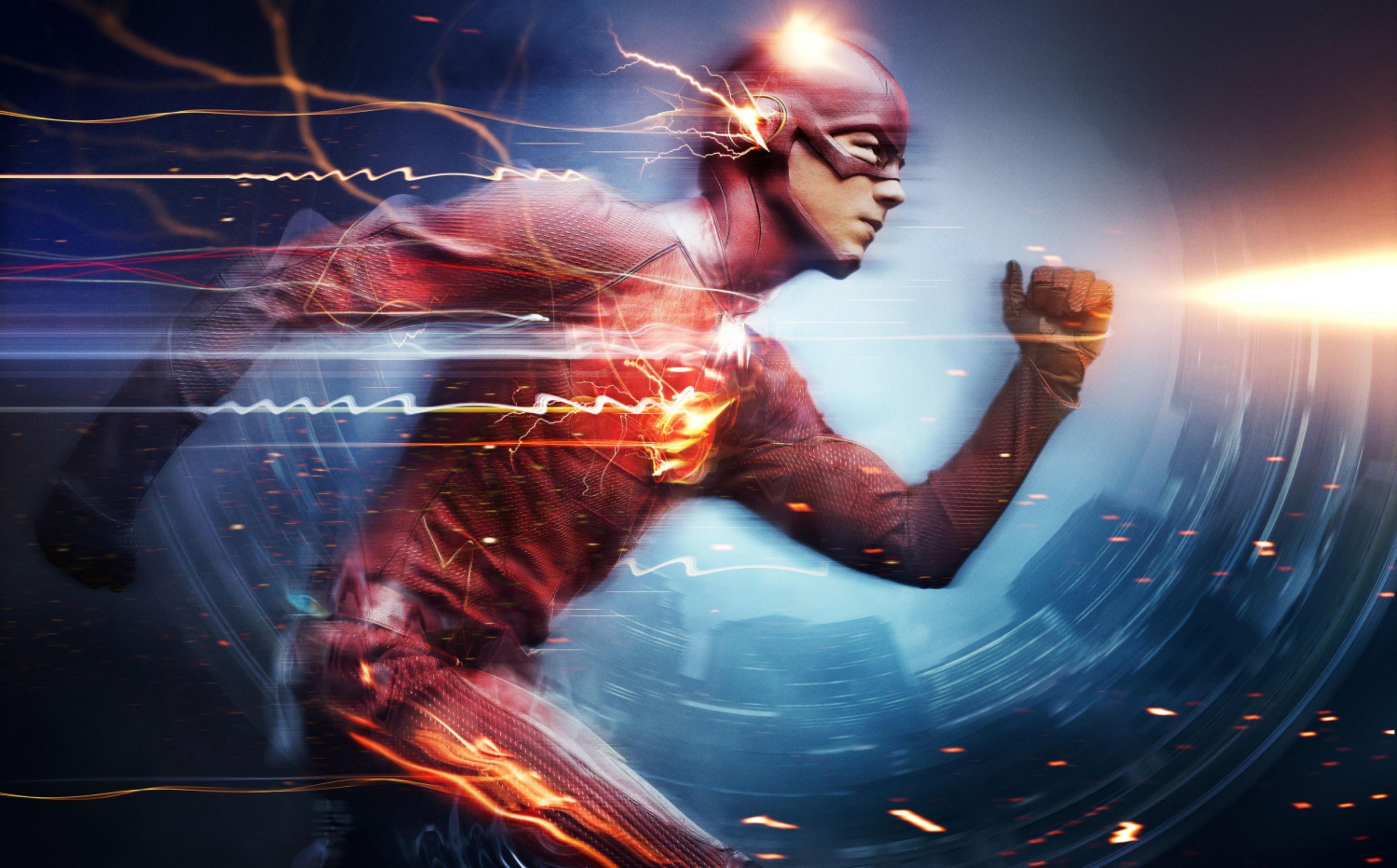 Wallpaper : superhero, The Flash, guitarist, Grant Gustin