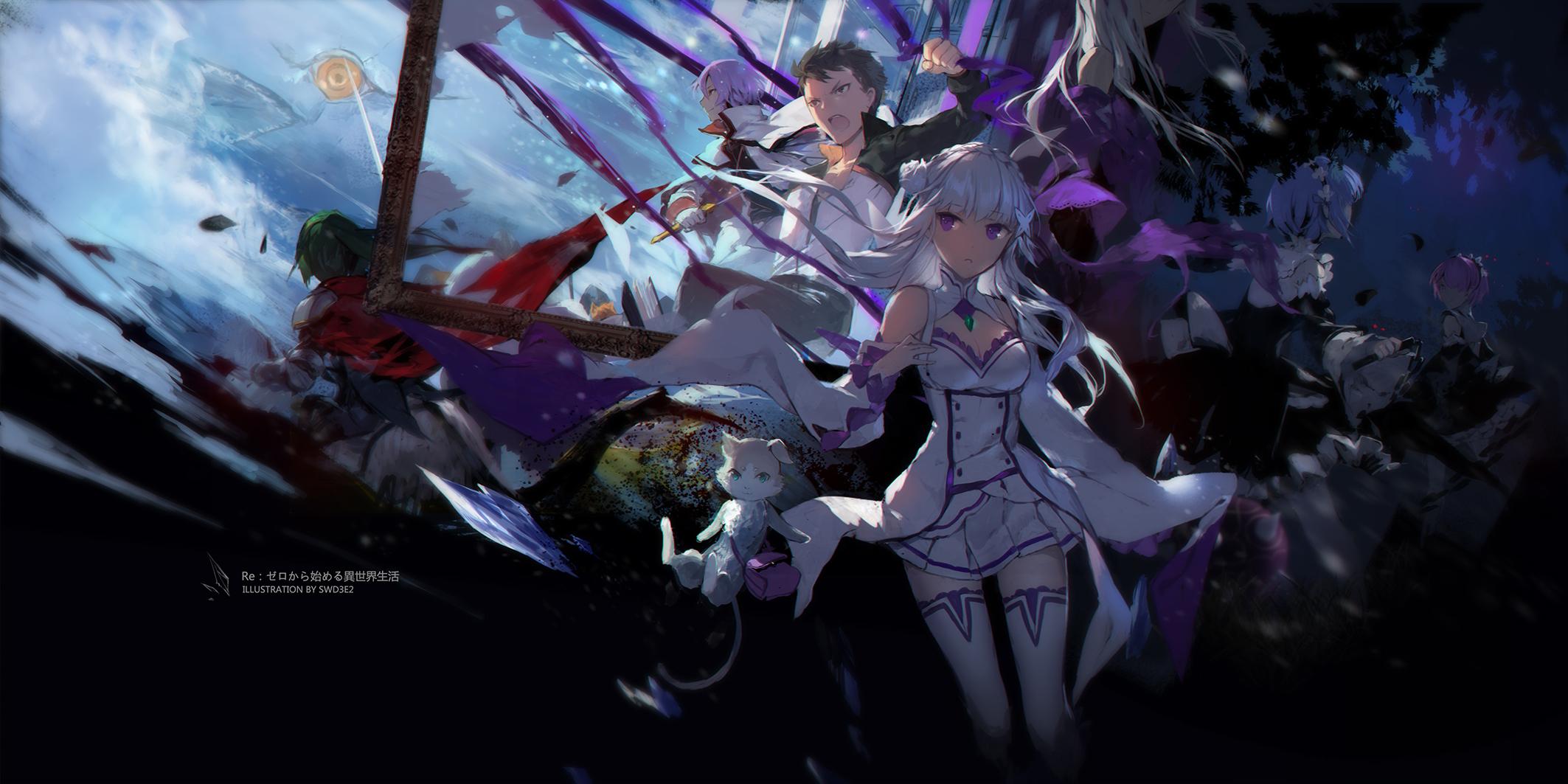 Wallpaper Swd3e2 Re Zero Kara Hajimeru Isekai Seikatsu Anime