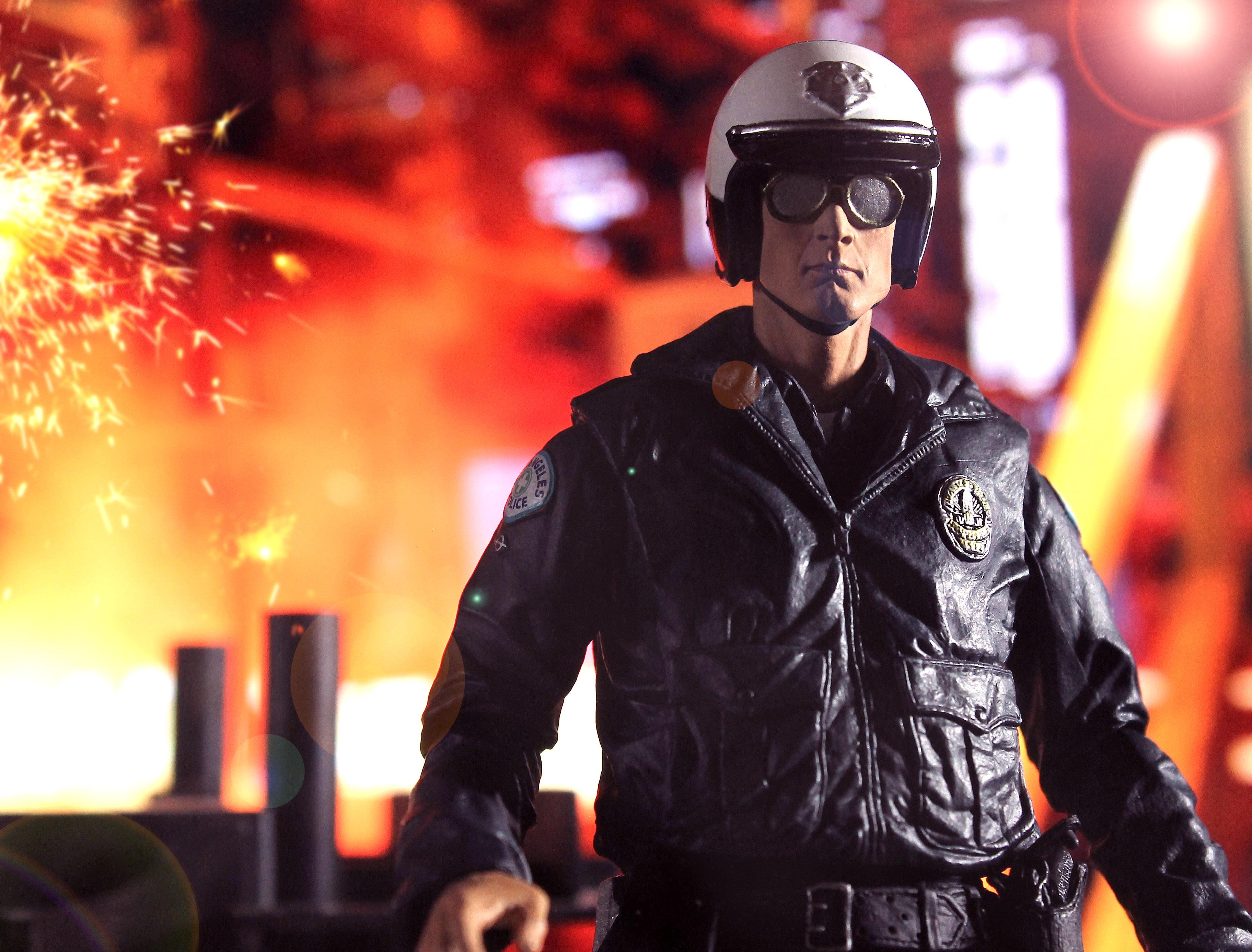 Wallpaper t1000 neca motorcycle cop terminator terminator2 judgmentday robertpatrick - Terminator 2 wallpaper hd ...