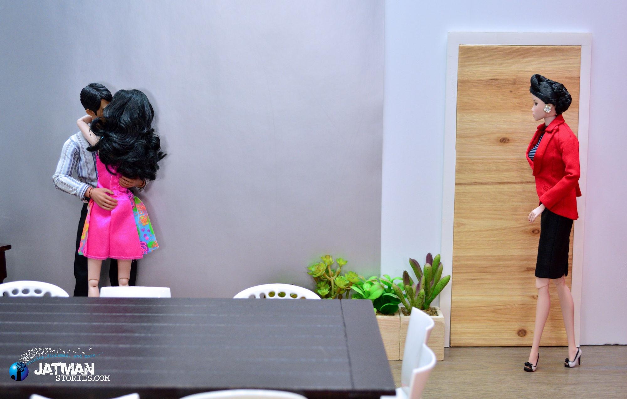 Wallpaper Meja Korea Desain Interior Barbie Gadis
