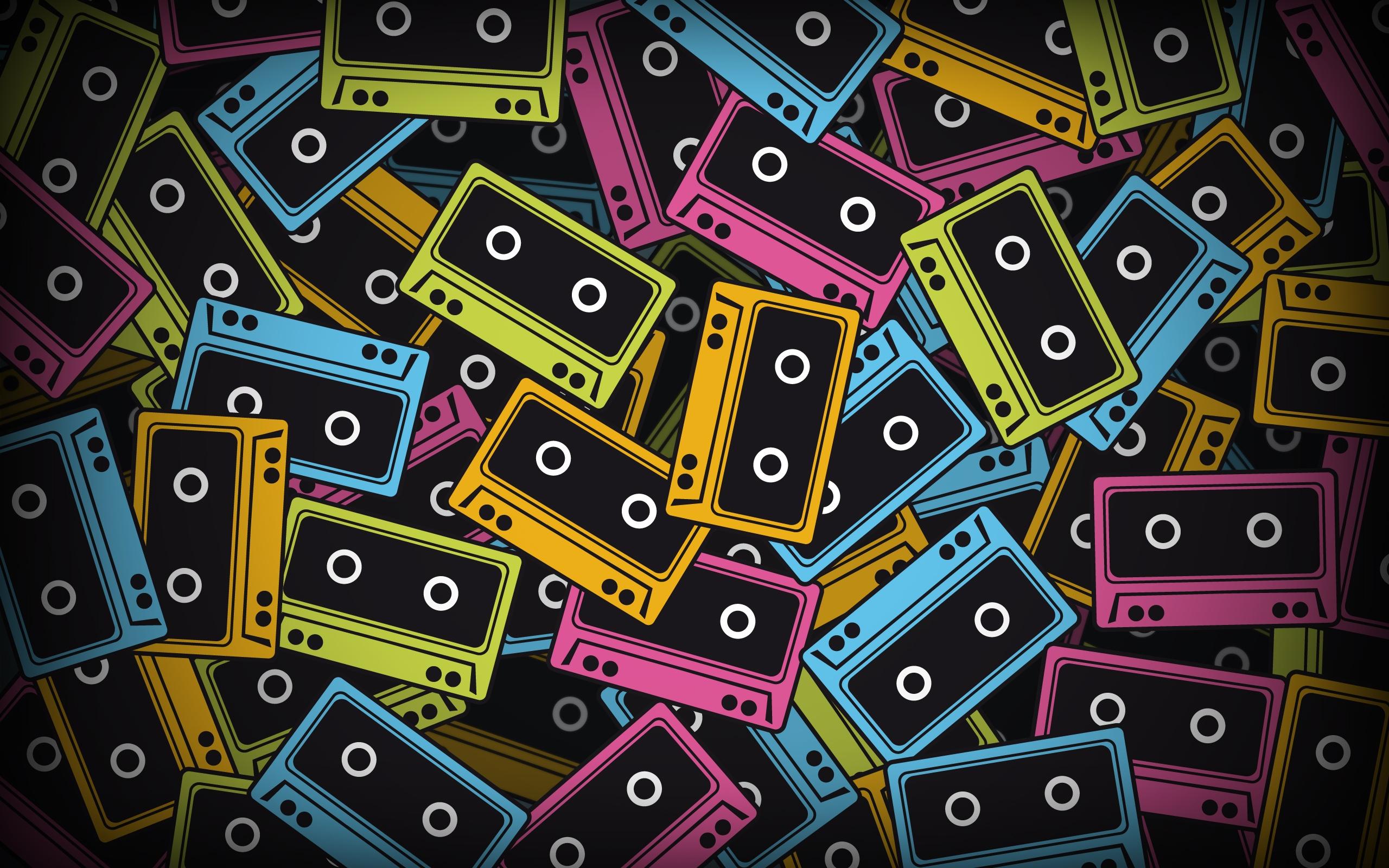 картинка кассета на телефон красная