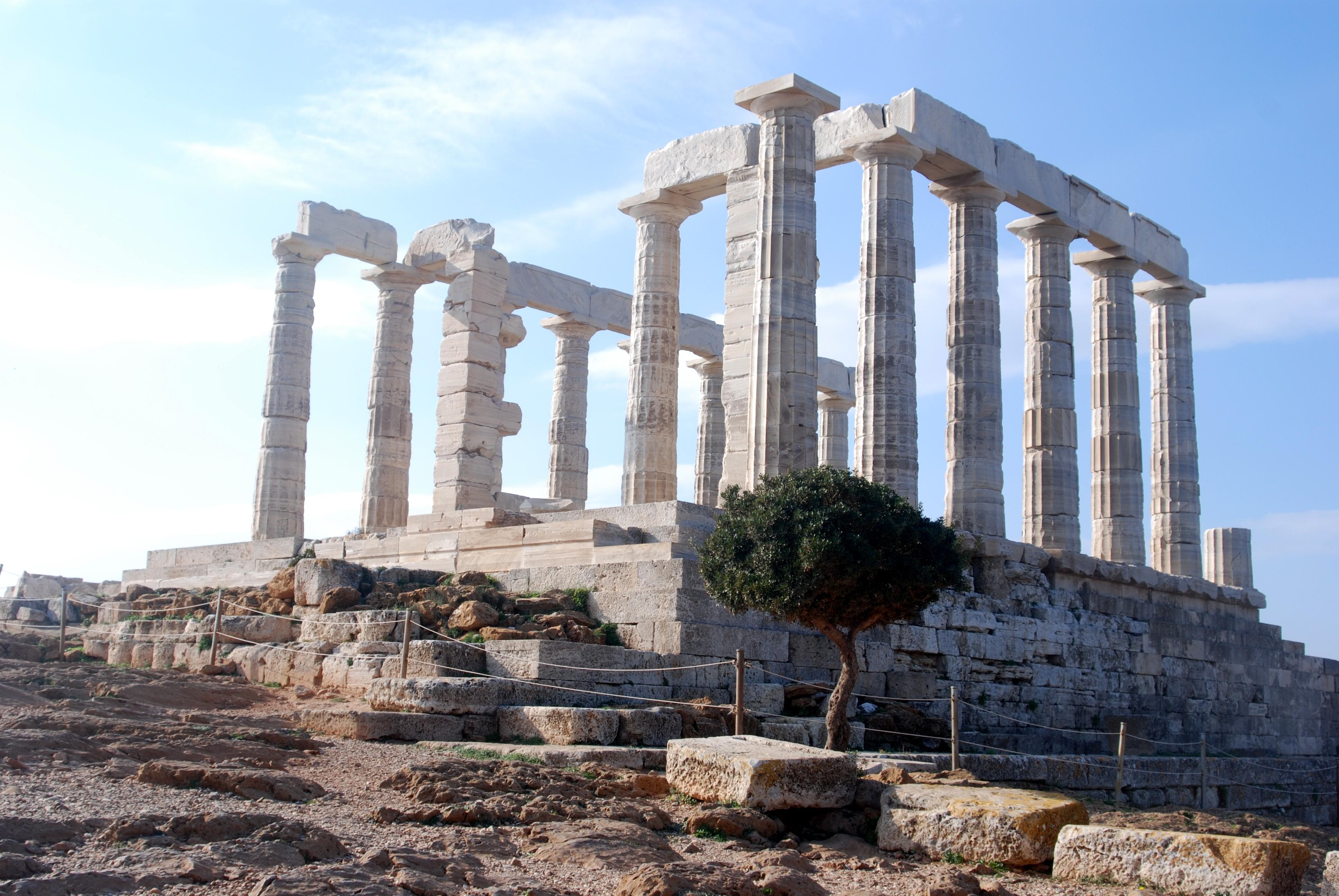 Fondos de pantalla templo arquitectura edificio ruina for Arquitectura de grecia