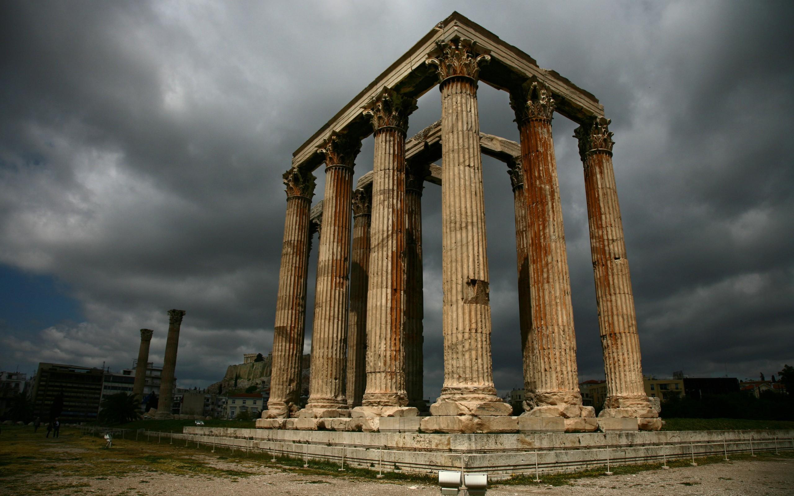 это время картинки архитектуры древней греции кот манул