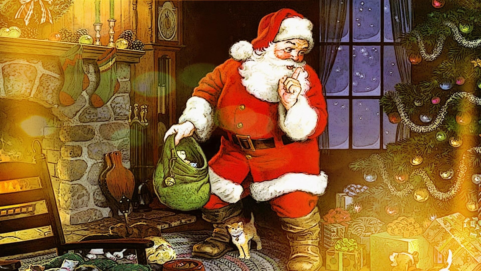 Fond D écran Vacances De Noël: Fond D'écran : Temple, Lumières, Vacances, Père Noël