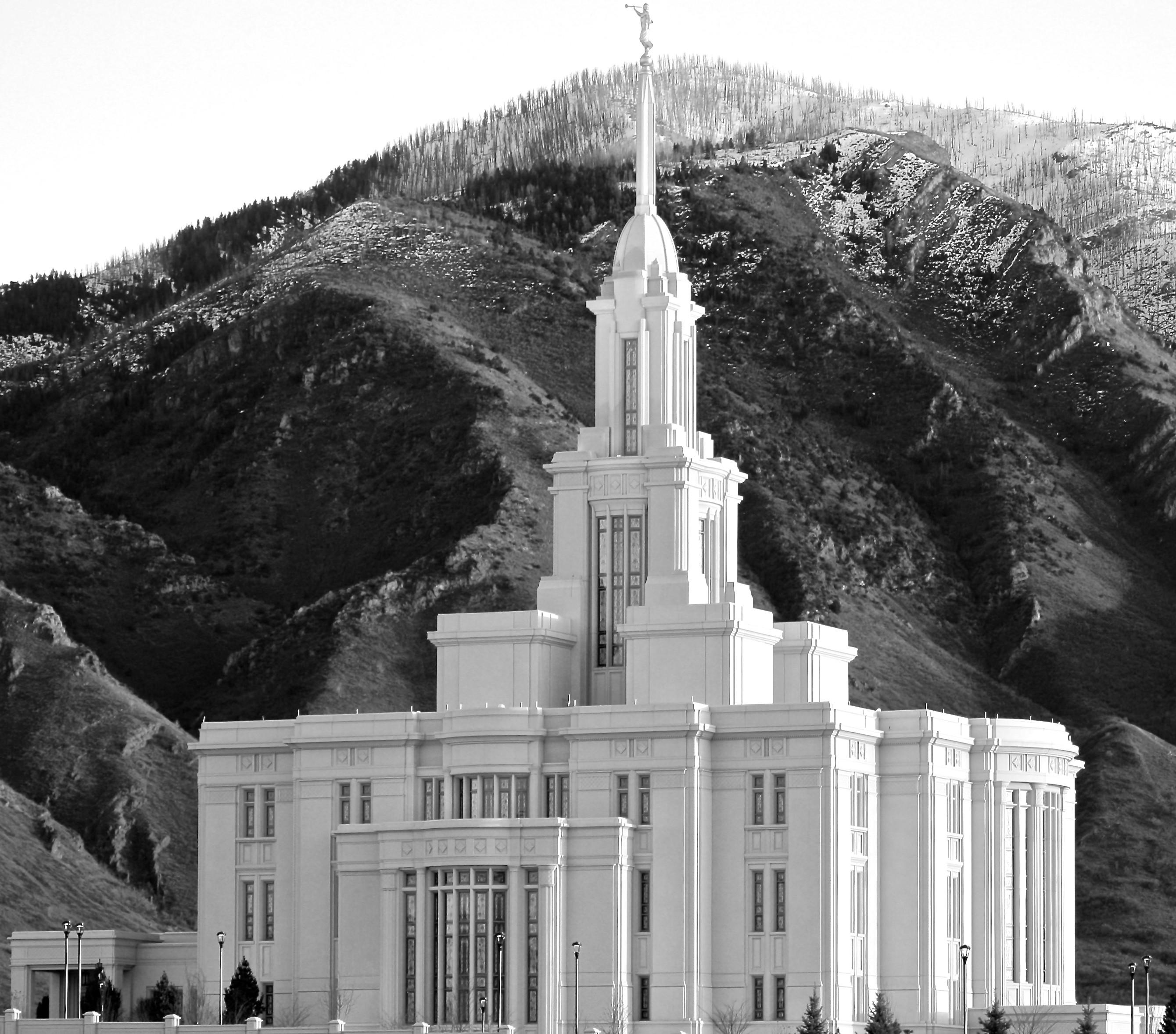 Wallpaper Temple Building Church Utah The Of Jesus Christ Latter Day Saints LDS Mormon Monastery Chapel Monument Light World