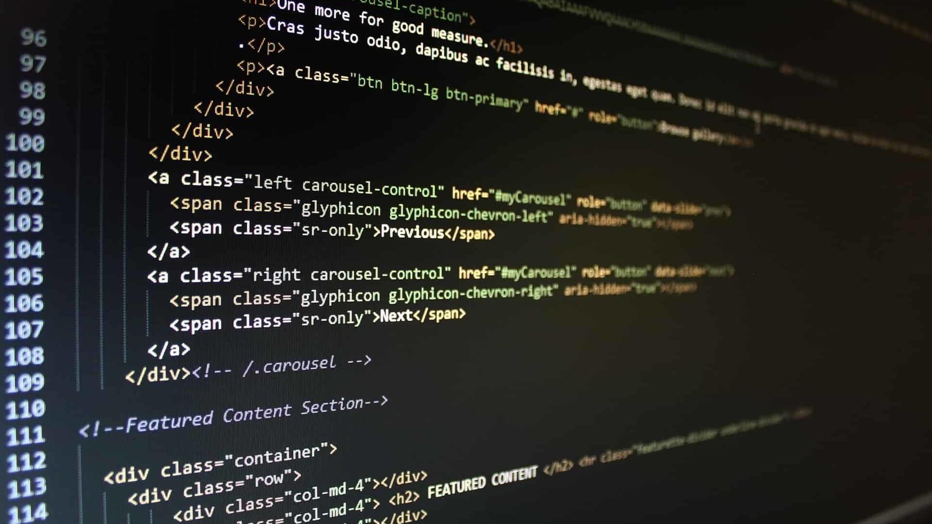 Fondos De Pantalla Texto Código Html Píxeles Pantalla