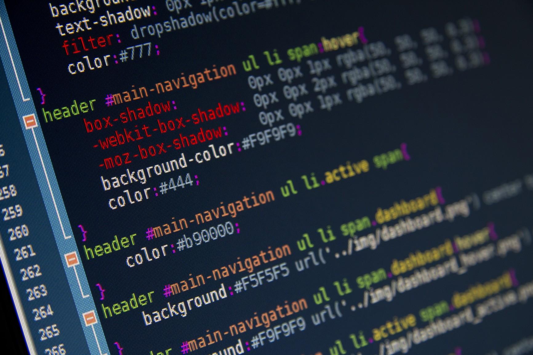 Most Inspiring Wallpaper Computer Logic - text-code-computer-pixels-Computer-screen-syntax-highlighting-color-codes-CSS-brand-logic-design-screenshot-font-283927  Perfect Image Reference_74657 .jpg