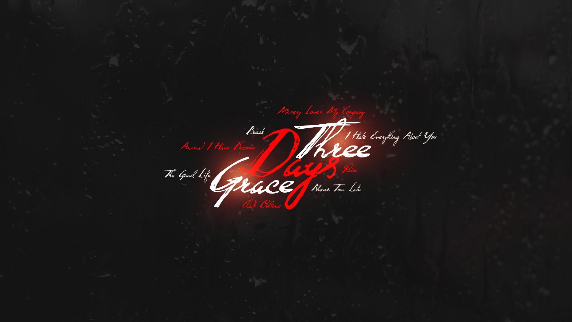 Wallpaper text logo brand three days grace darkness - Three days grace wallpaper ...
