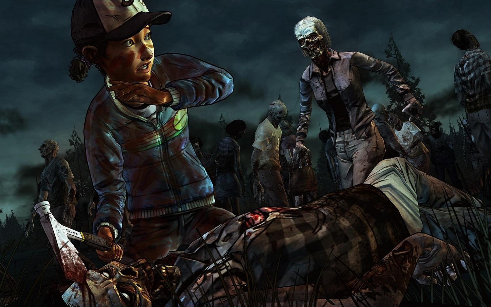 Wallpaper The Walking Dead A Telltale Games Series The Walking Dead Art Game 1680x1050 Wallpaperup 1005553 Hd Wallpapers Wallhere