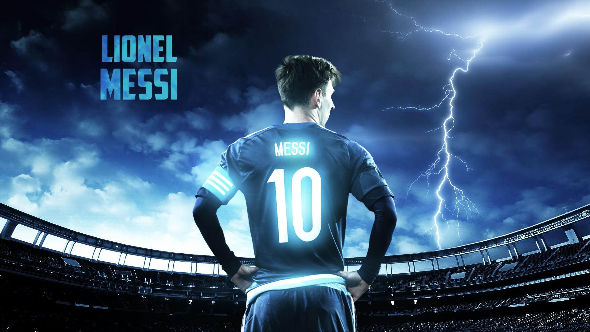 Fondos De Pantalla Trueno Estadio Leo Messi Lionel