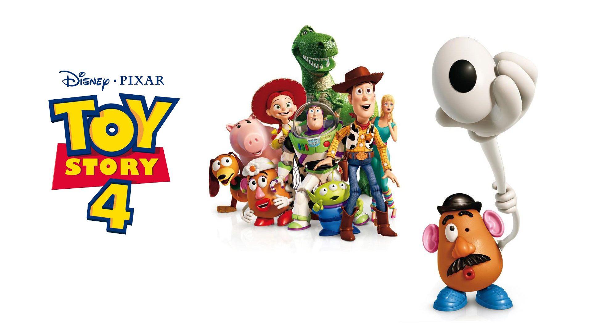 Wallpaper Toy Story 4 Buzz Lightyear Sheriff Woody