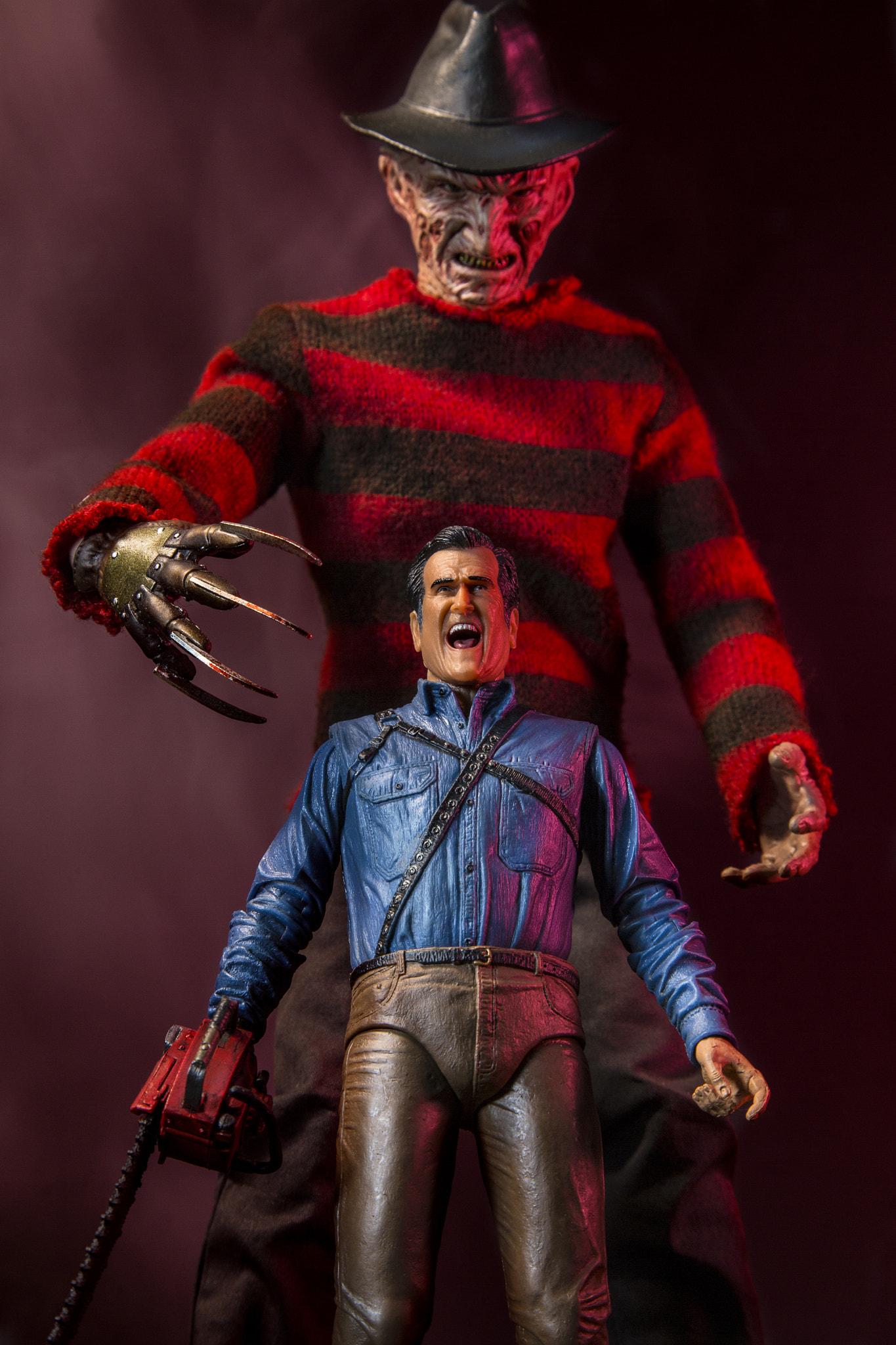 Wallpaper Toys Action Figures Freddy Krueger Ash Fictional