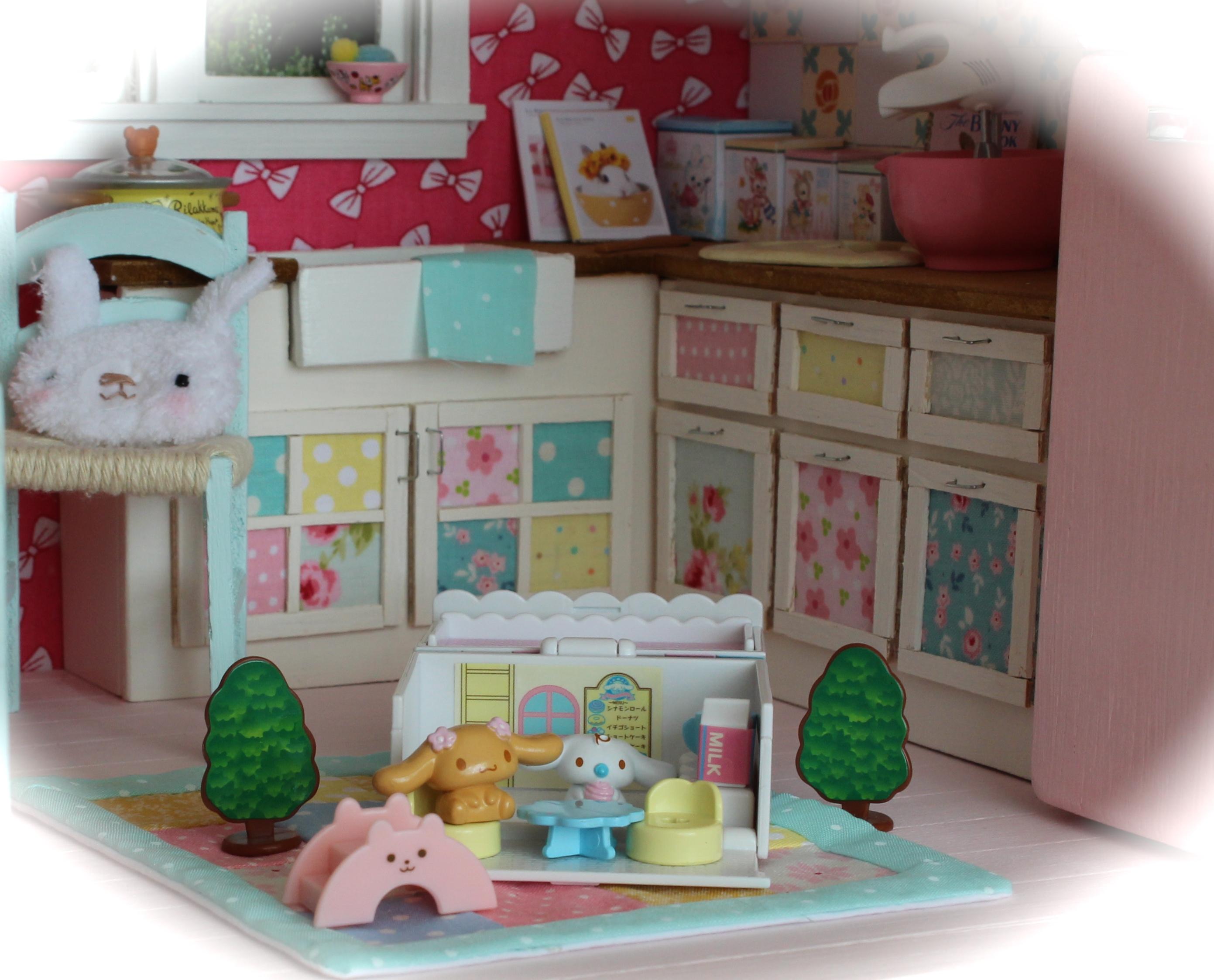 デスクトップ壁紙 おもちゃ ルーム キッチン 棚 ピンク