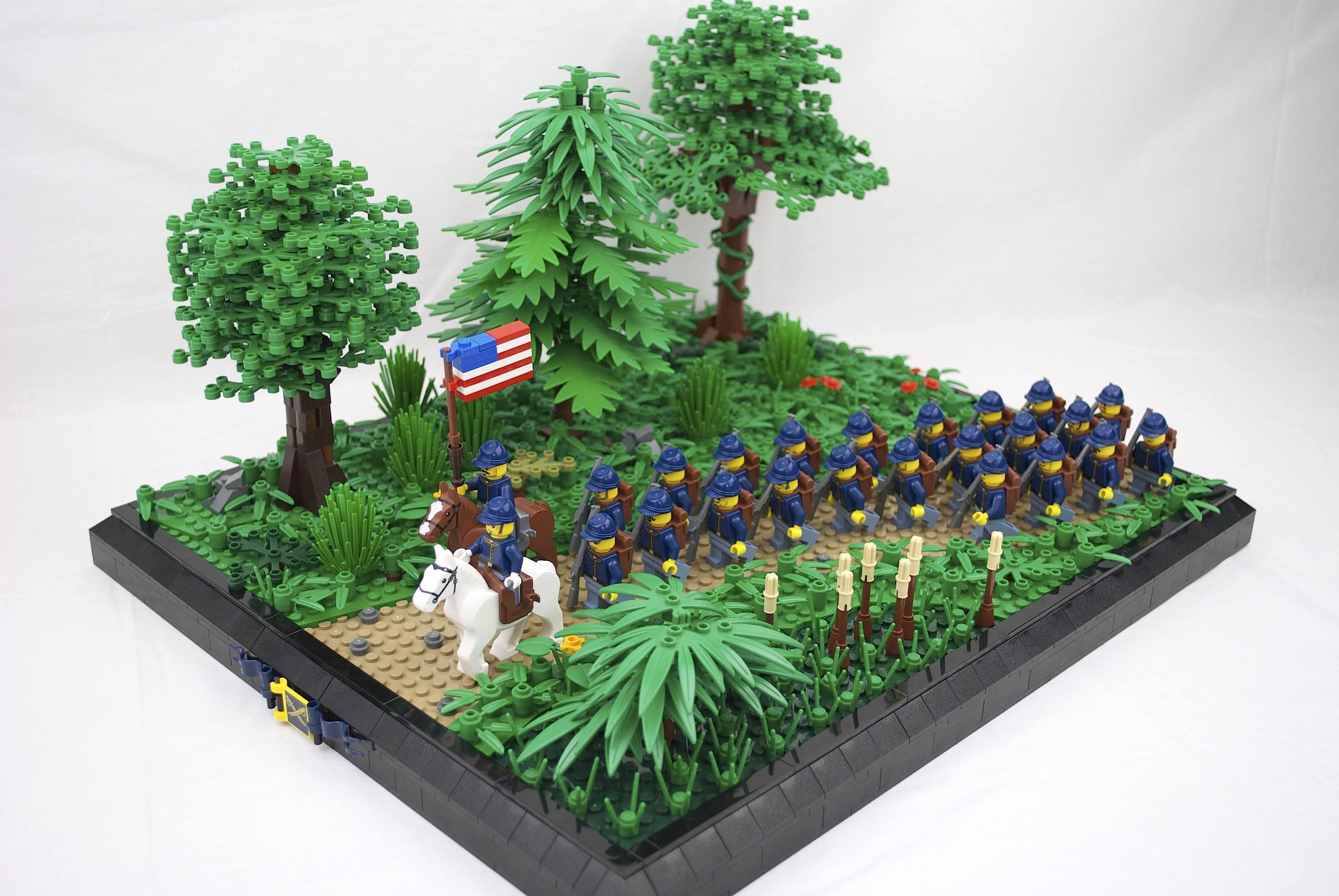 Flot Baggrunde : træ, græs, plante, Legetøj, LEGO 3872x2592 - - 919726 JP-57