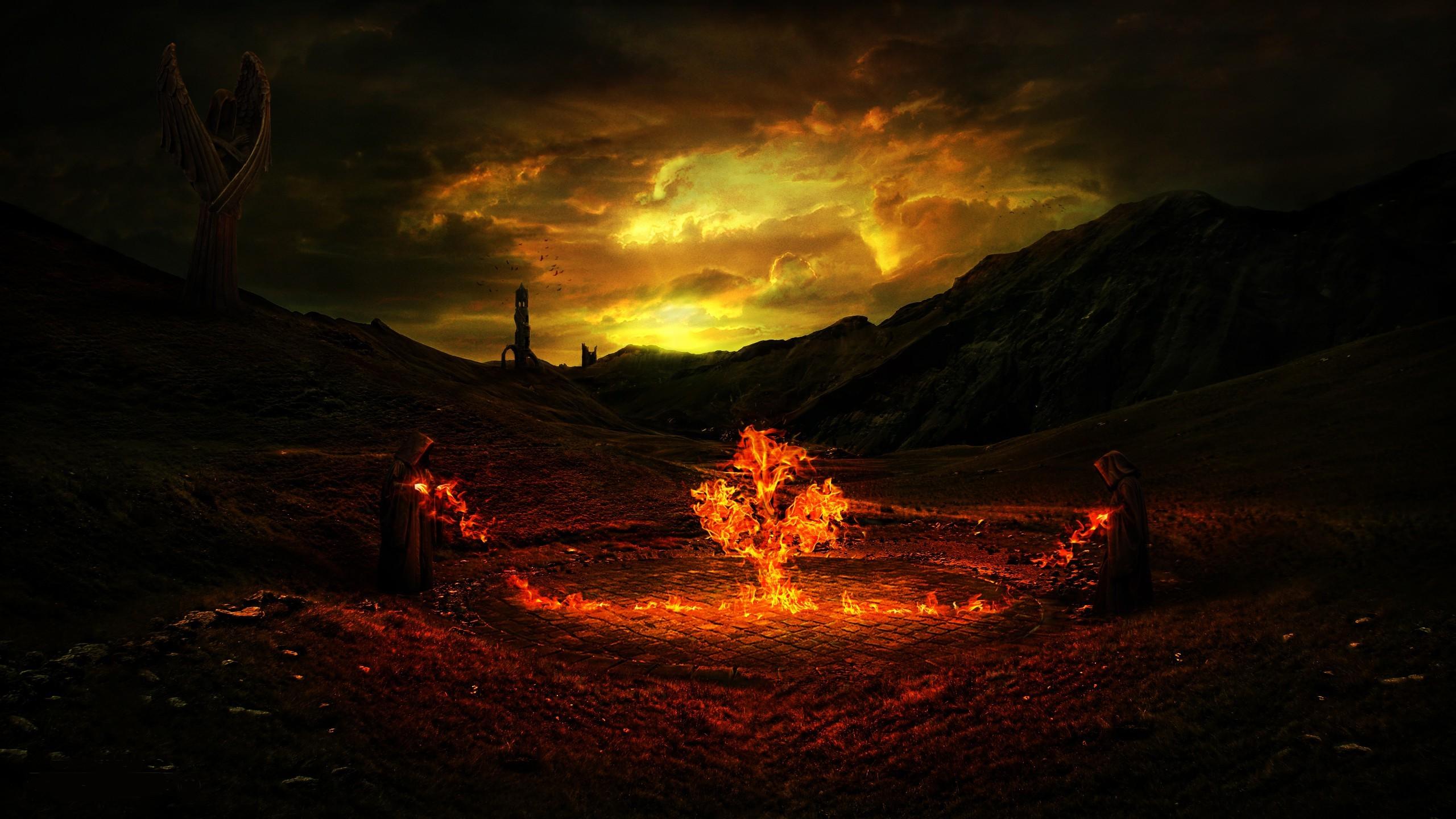 Amazing Wallpaper Night Evening - trees-fantasy-art-night-evening-fire-lava-darkness-screenshot-2560x1440-px-geological-phenomenon-604484  Trends-38774.jpg