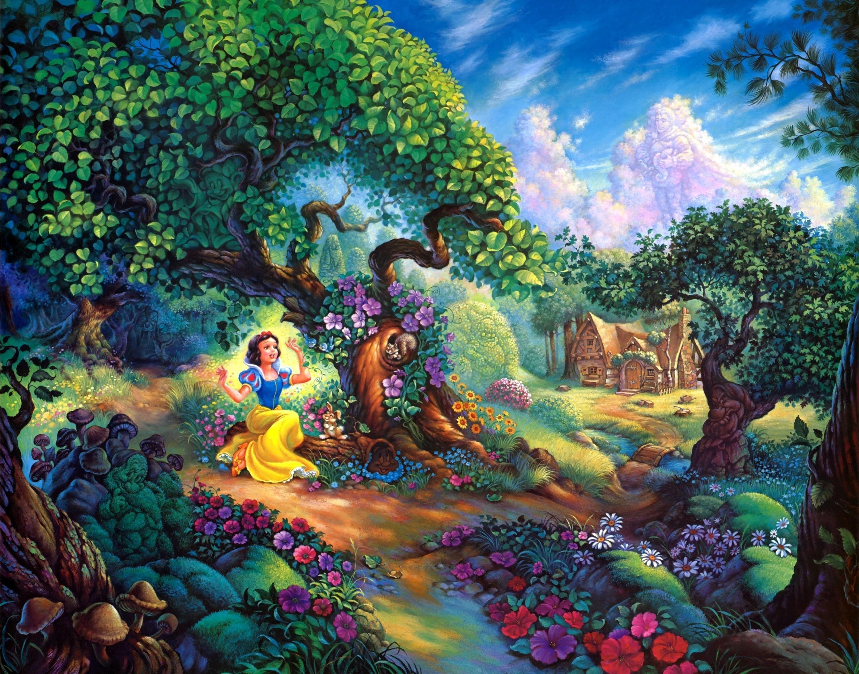 Герои сказок волшебных в картинках
