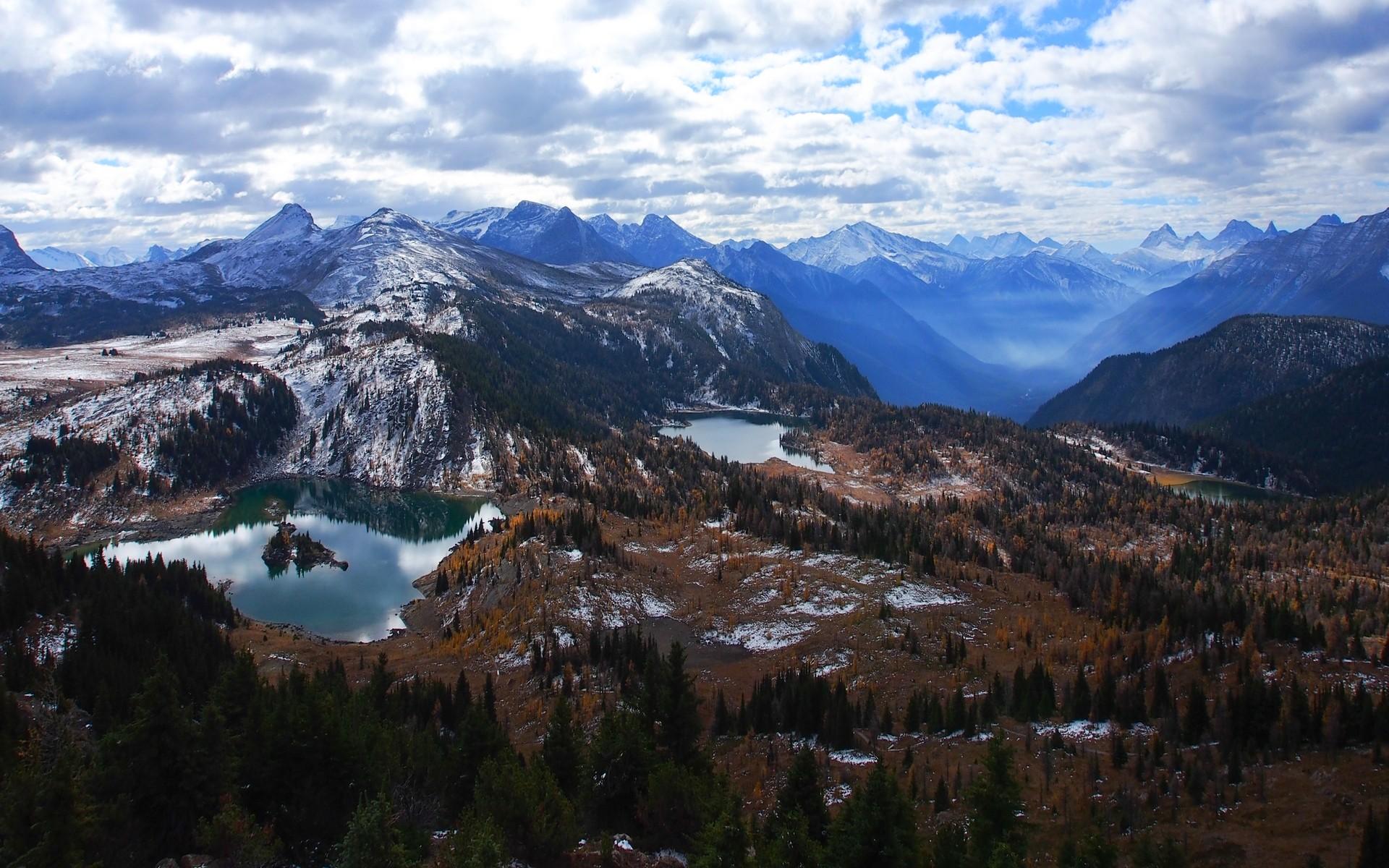 Fondo Escritorio Picos Montañas Nevadas: Fondos De Pantalla : Árboles, Paisaje, Bosque, Otoño