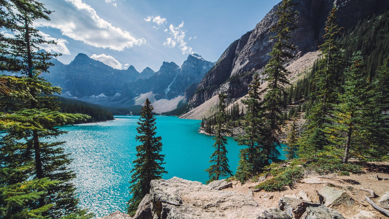 hintergrundbilder b ume landschaft wald berge wasser natur kanada t rkis nationalpark. Black Bedroom Furniture Sets. Home Design Ideas