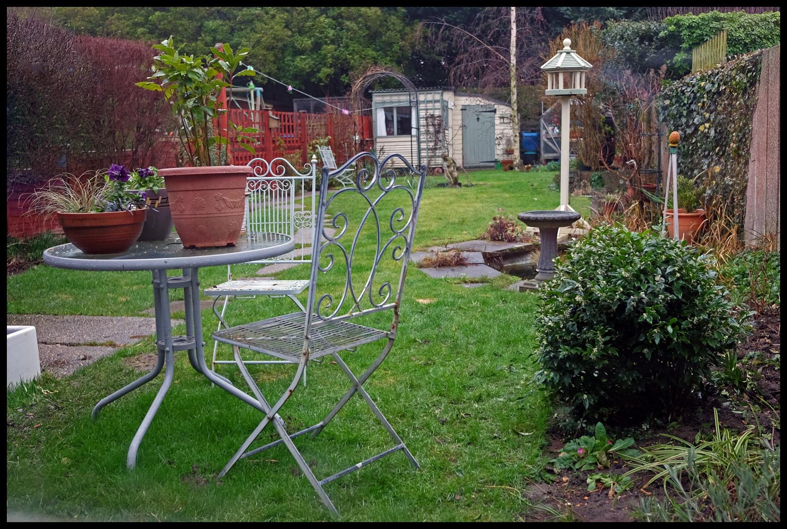 hintergrundbilder bume landschaft garten gras winter tabelle haus sessel struche zaun bogen gehweg hinterhof baum pflanze vogel - Hinterhof Landschaften Bilder