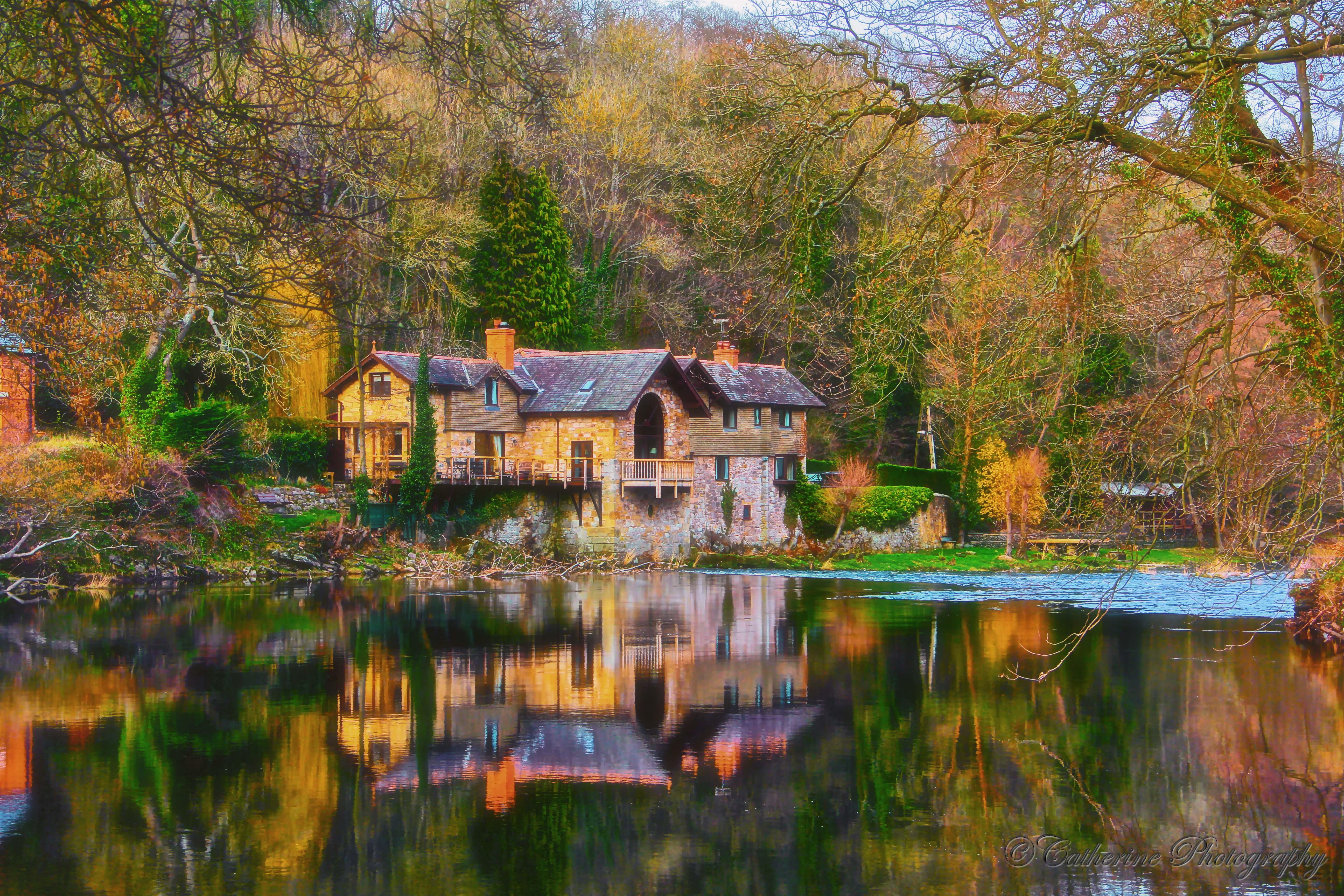 фотографии домик у реки предложения