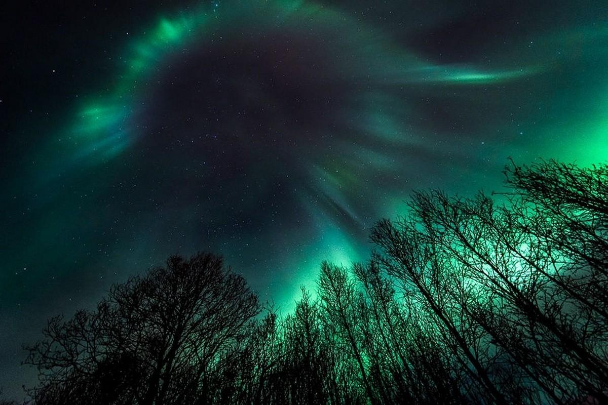 Картинки сияние в небе, картинки слышь