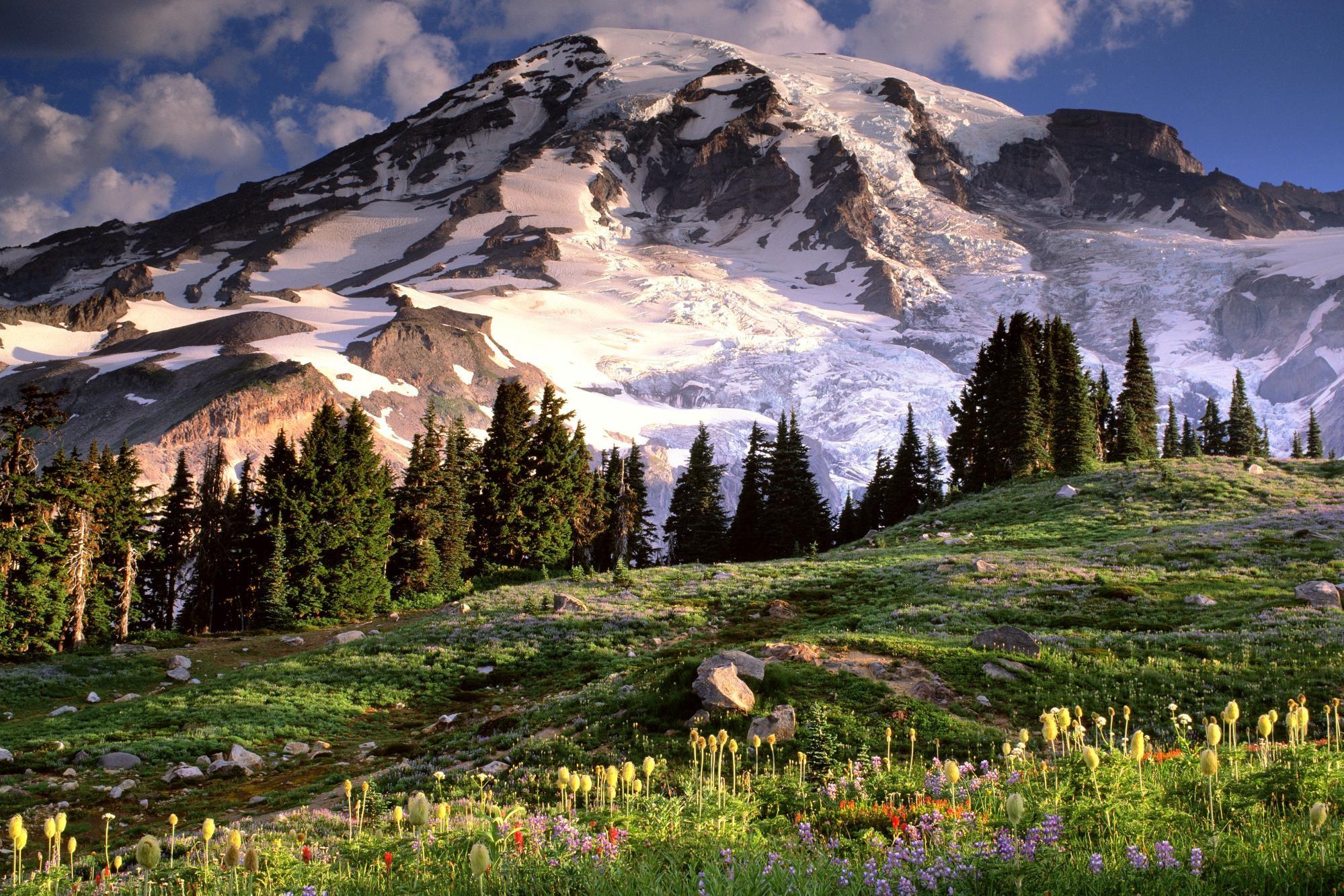 Красивые горные пейзажи картинки
