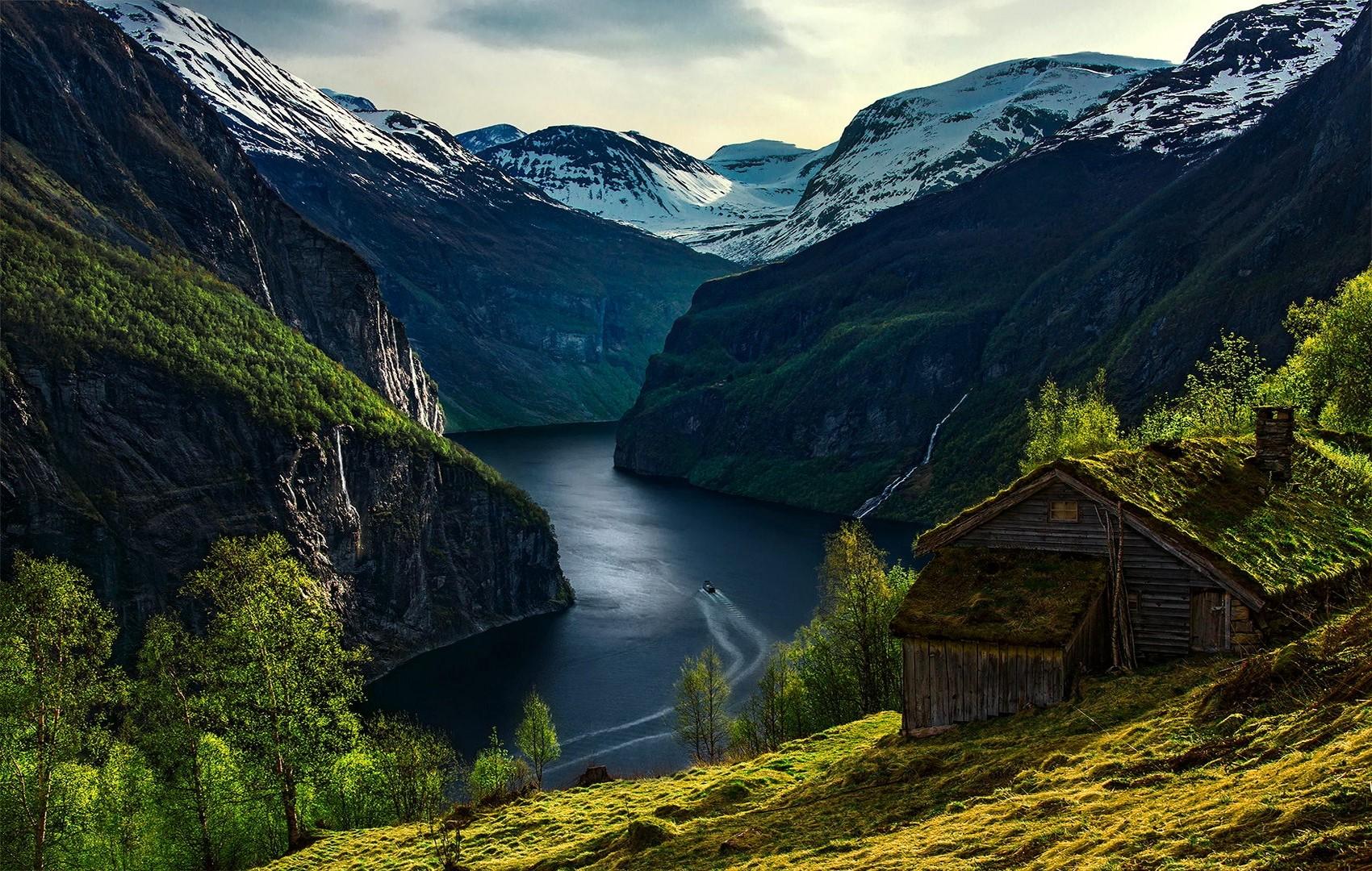 нас есть скандинавия горы пейзажи фото неё
