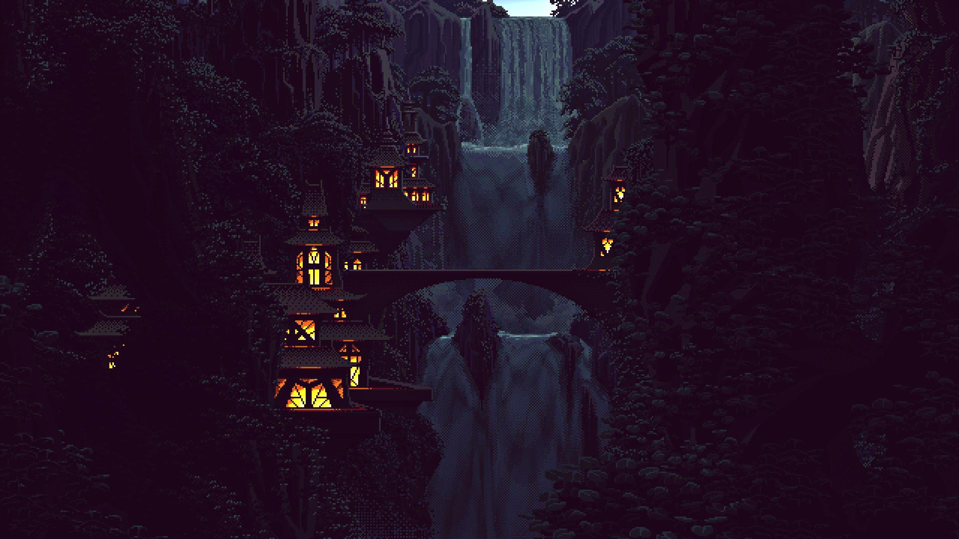 Fondos de pantalla : Árboles, luces, bosque, montañas