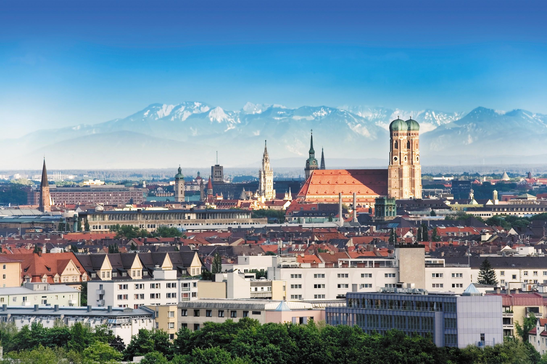 Обои мюнхен, здания, крыши, Munich, Germany, германия. Города foto 12