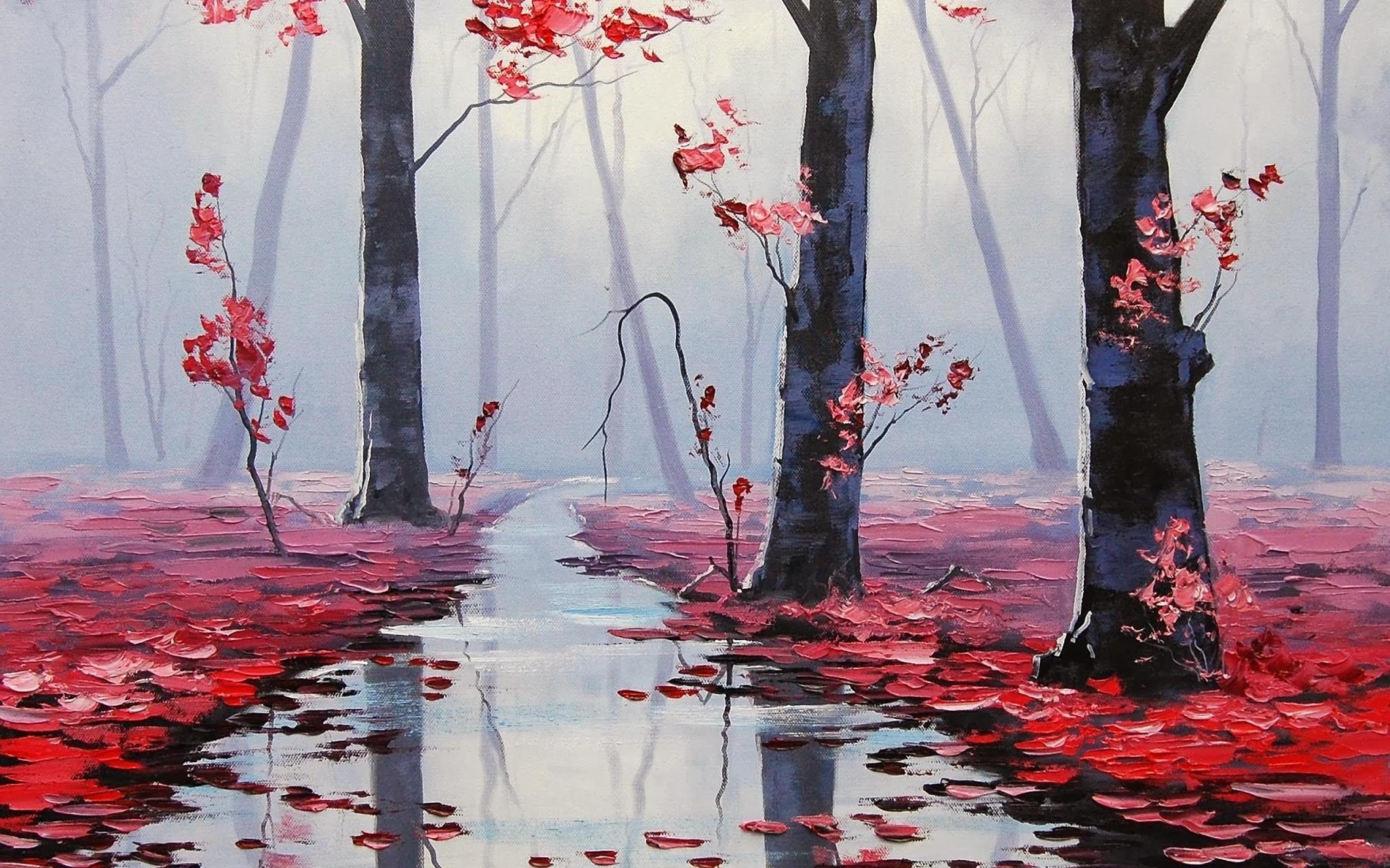 Fondos de pantalla : Árboles, otoño, hojas, naturaleza, rojo ...
