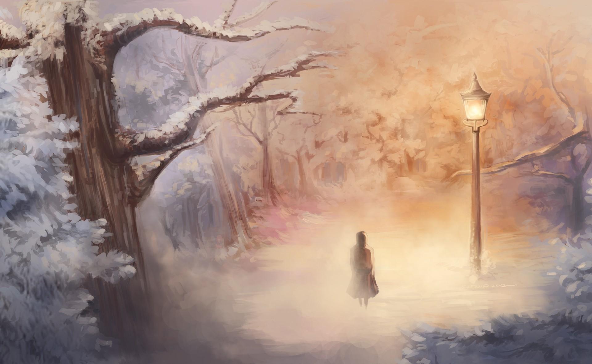 картинки фэнтези туман форму приняла