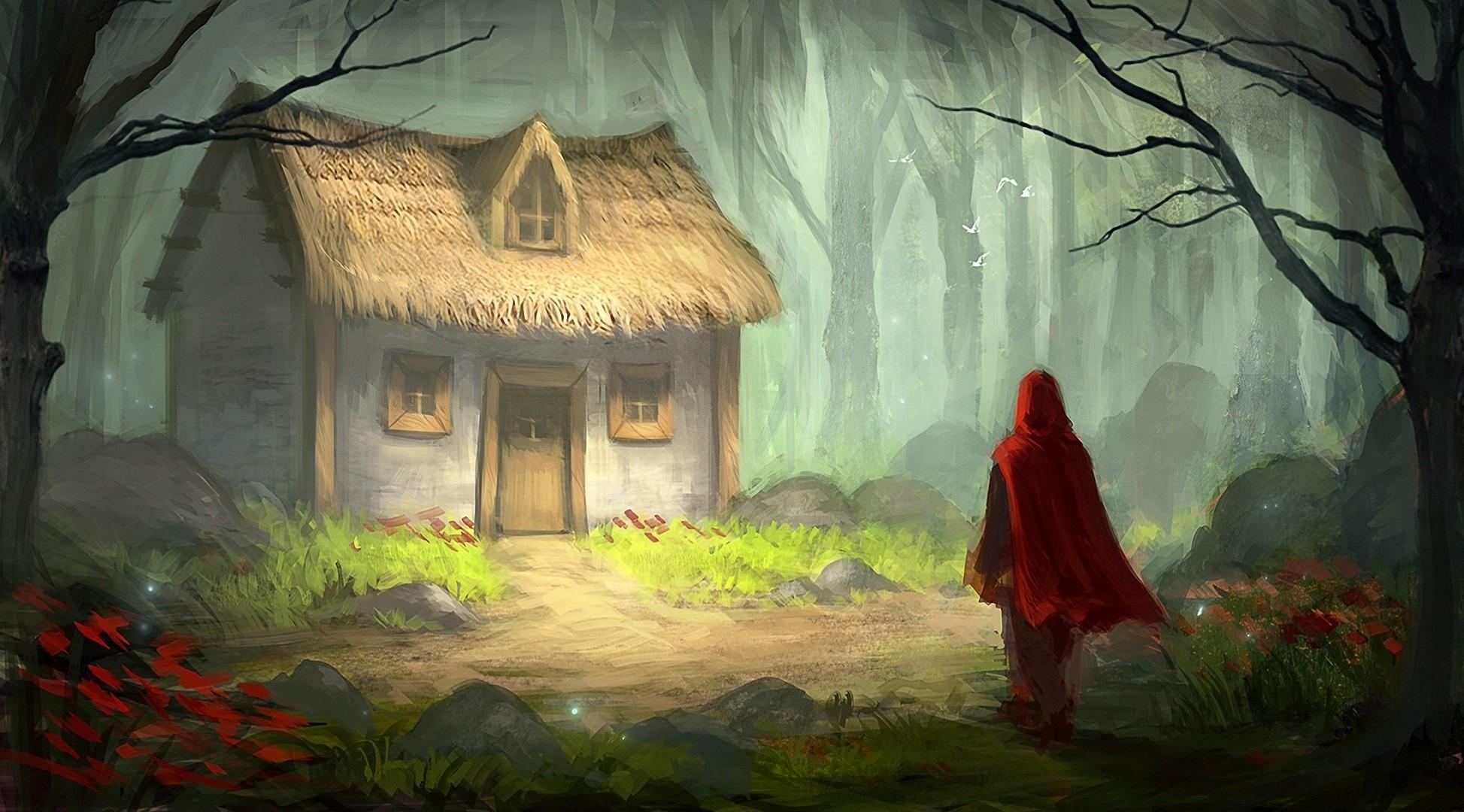 Sfondi Alberi La Pittura Foresta Arte Digitale Fantasy Art