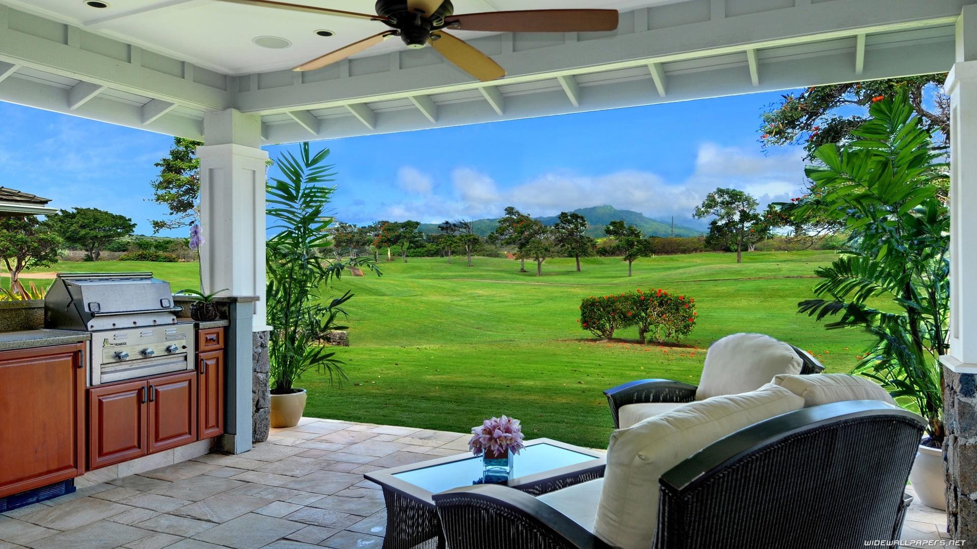 Fondos de pantalla rboles plantas mesa silla dise o de interiores caba a patio interior - Ley propiedad horizontal patio interior ...