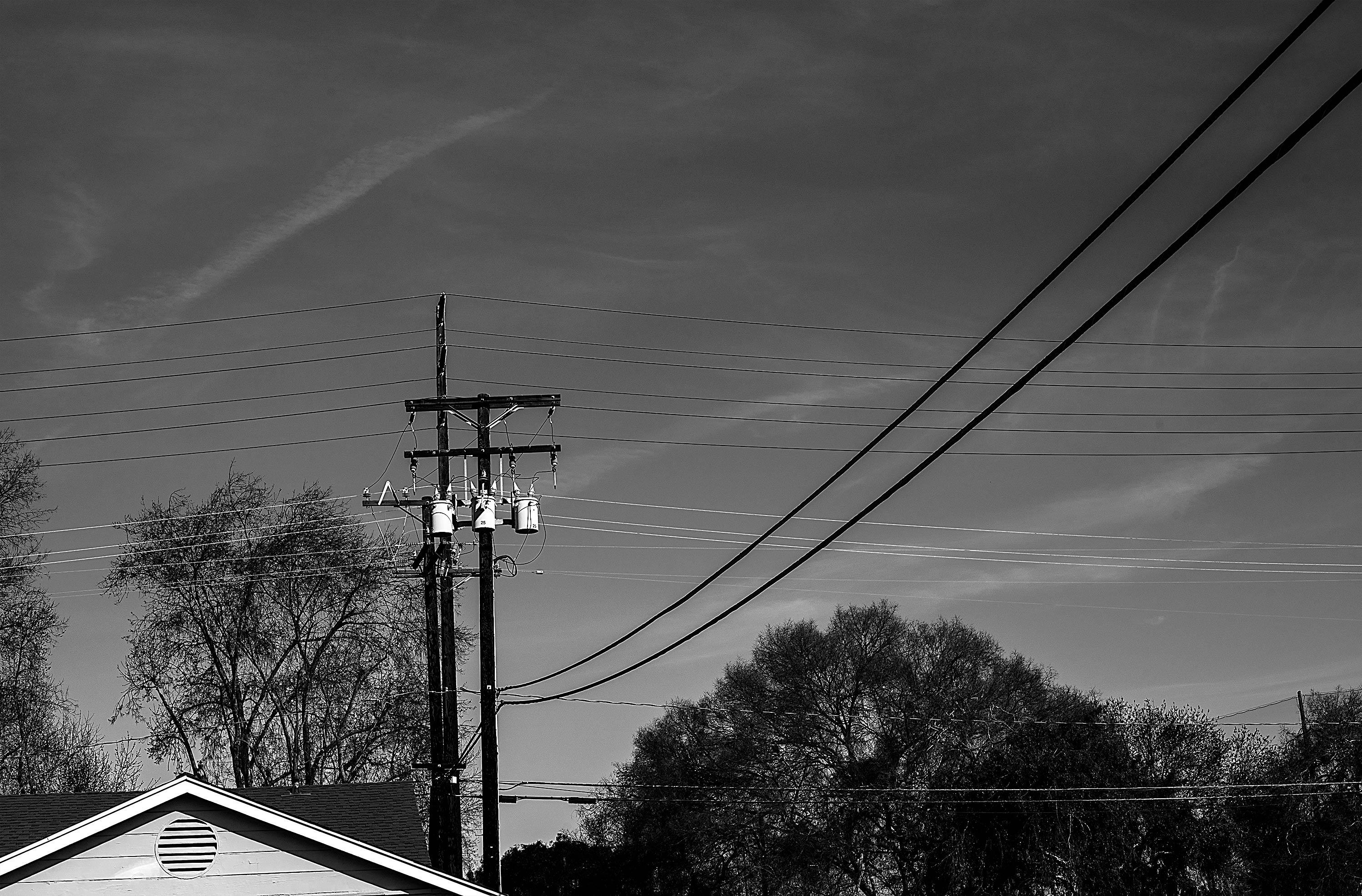 Sfondi Alberi Strada Luce Bianca Monocromo Cielo Nuvole