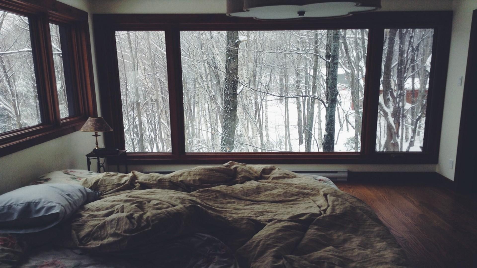 Sfondi : alberi, camera, la neve, inverno, legna, casa, tenda ...