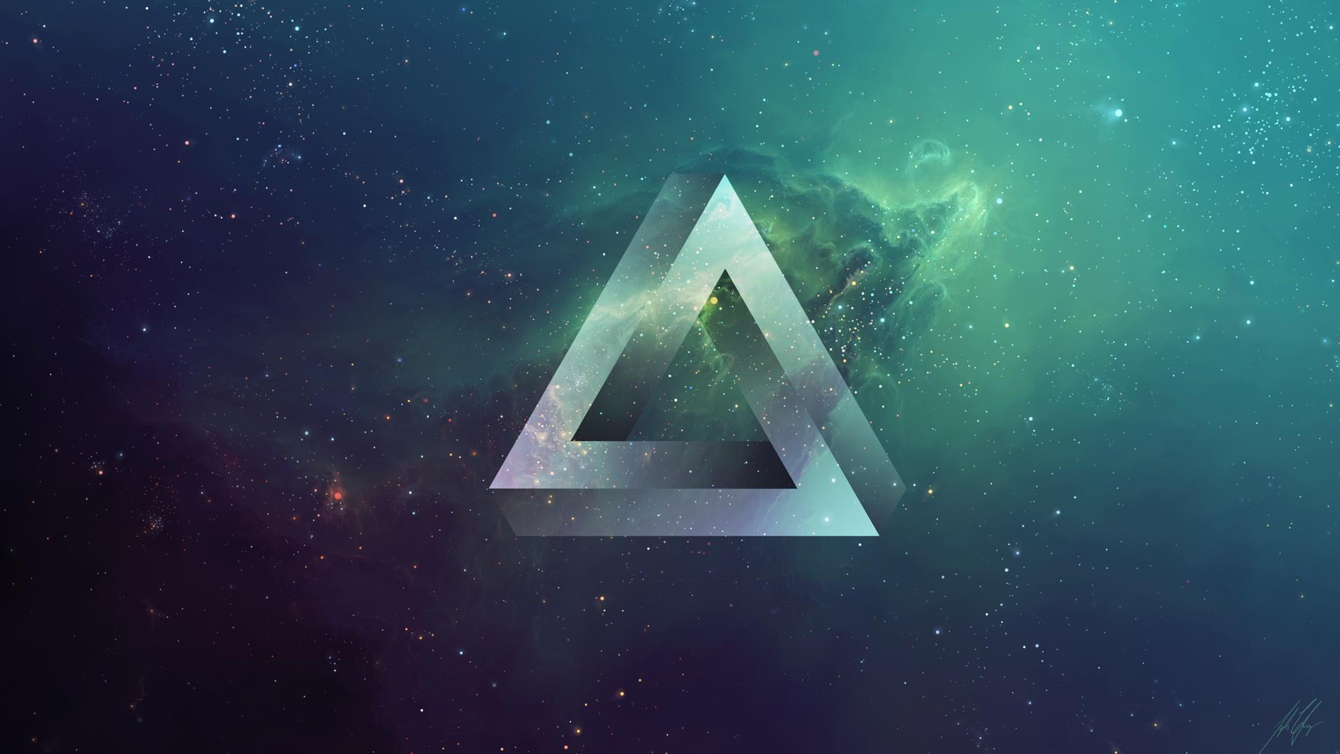Картинка бесконечного треугольника