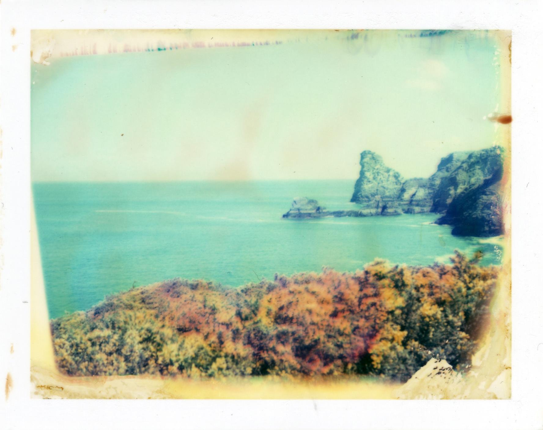Hintergrundbilder : Ausflug, Polaroid, Felsen, Cornwall, Klippen ...