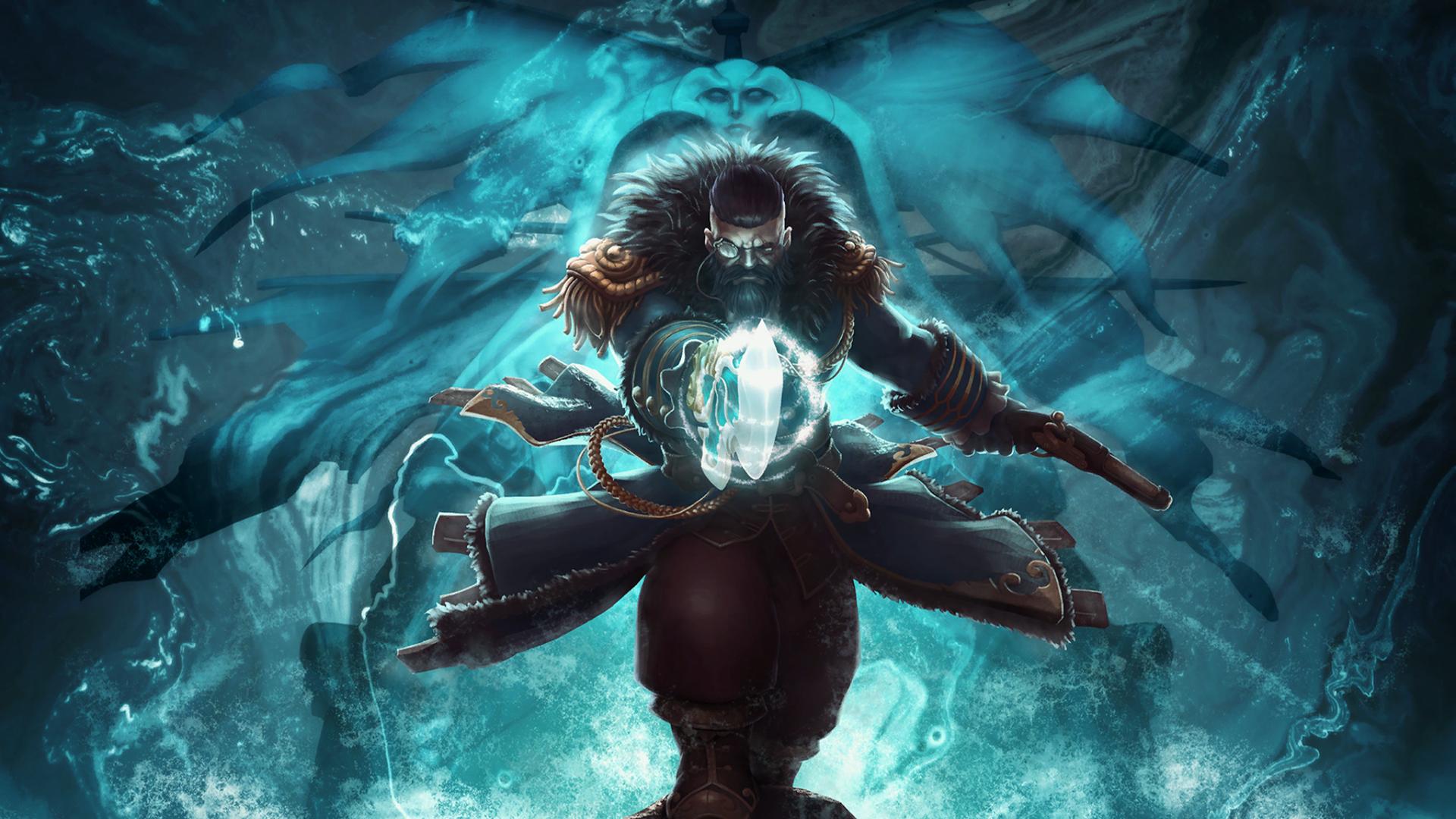 Wallpaper Underwater Dota 2 Mythology Kunkka Loading Screen