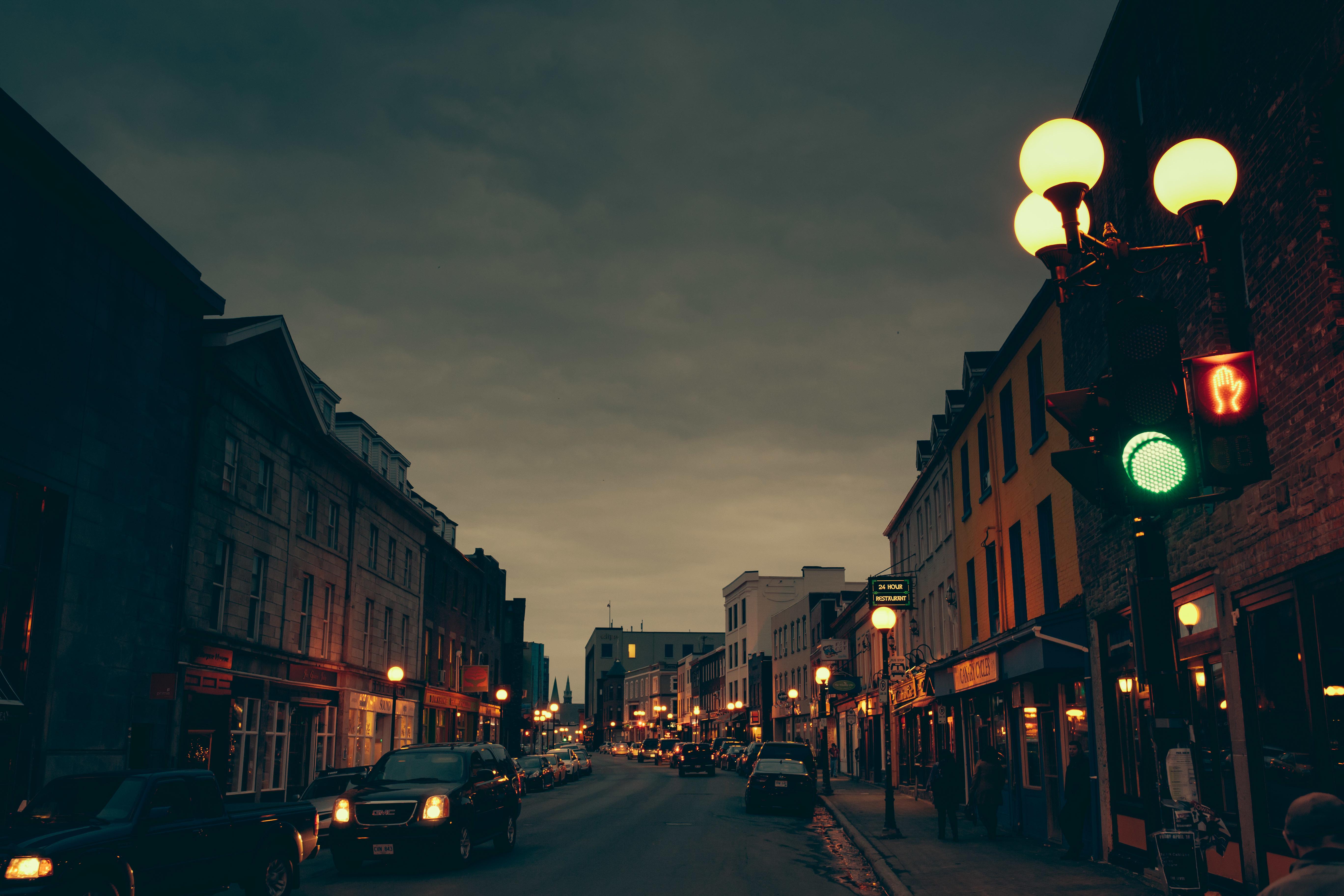 что фотографии ночной улицы форсировать