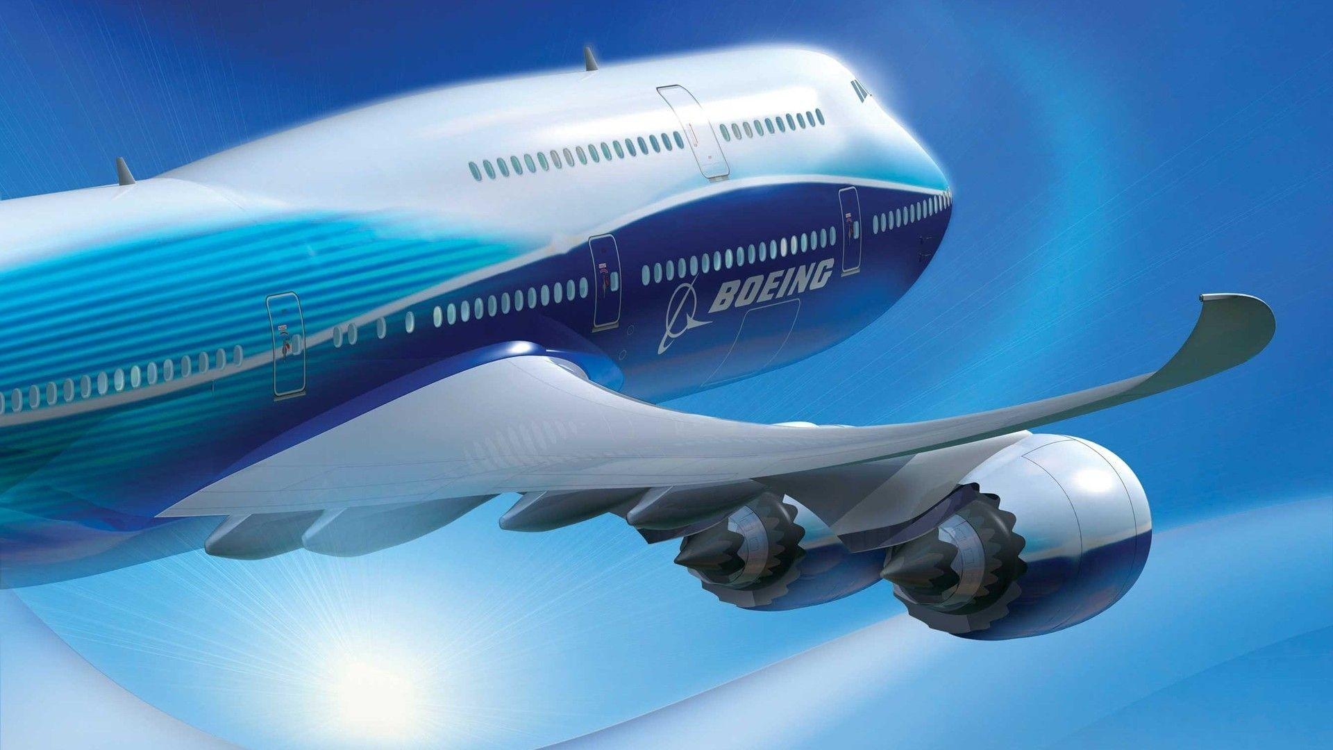 Обои boeing 747. Авиация foto 15