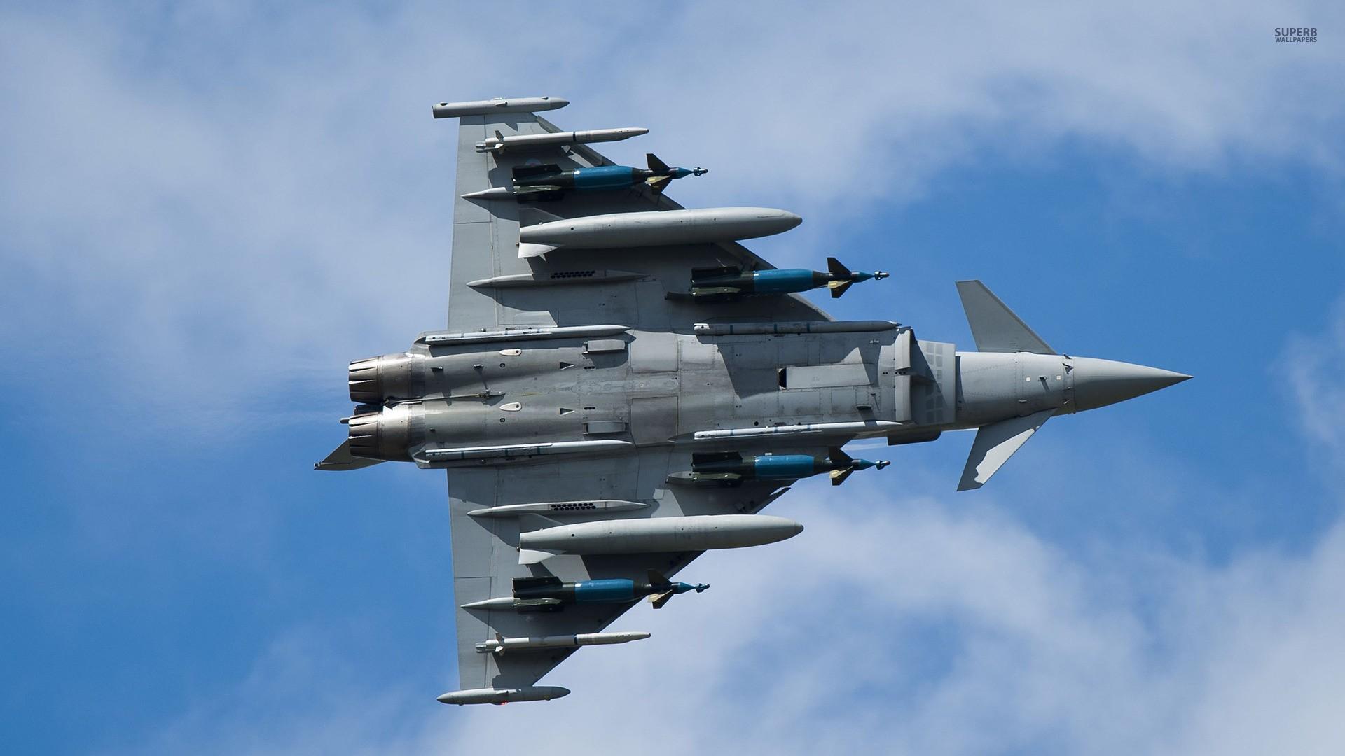 wallpaper : vehicle, airplane, eurofighter typhoon, military